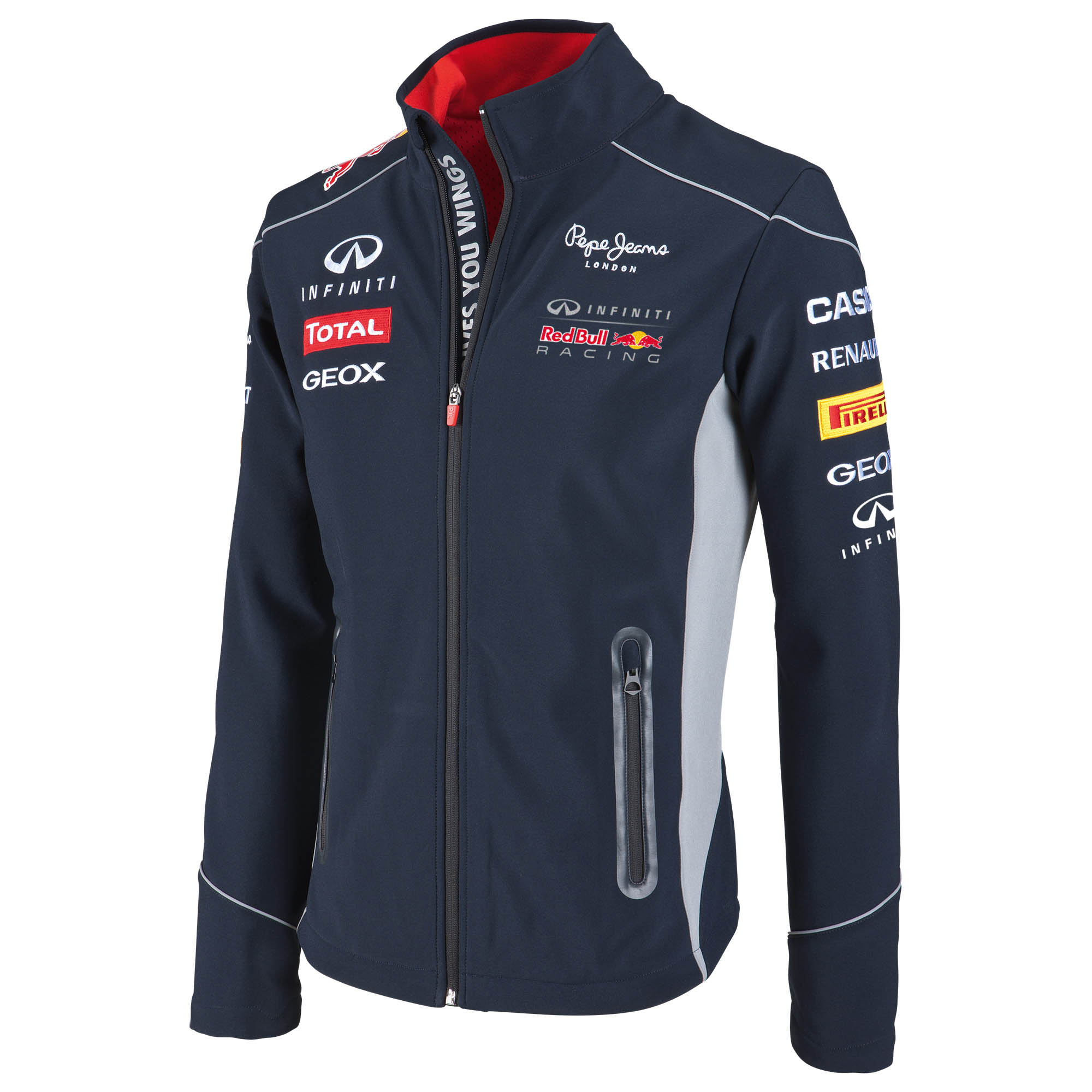 Infiniti Red Bull Racing 2013 Official Teamline Softshell Jacket