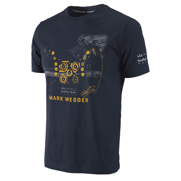 Infiniti Red Bull Racing 2013 Mark Webber Driver T-Shirt