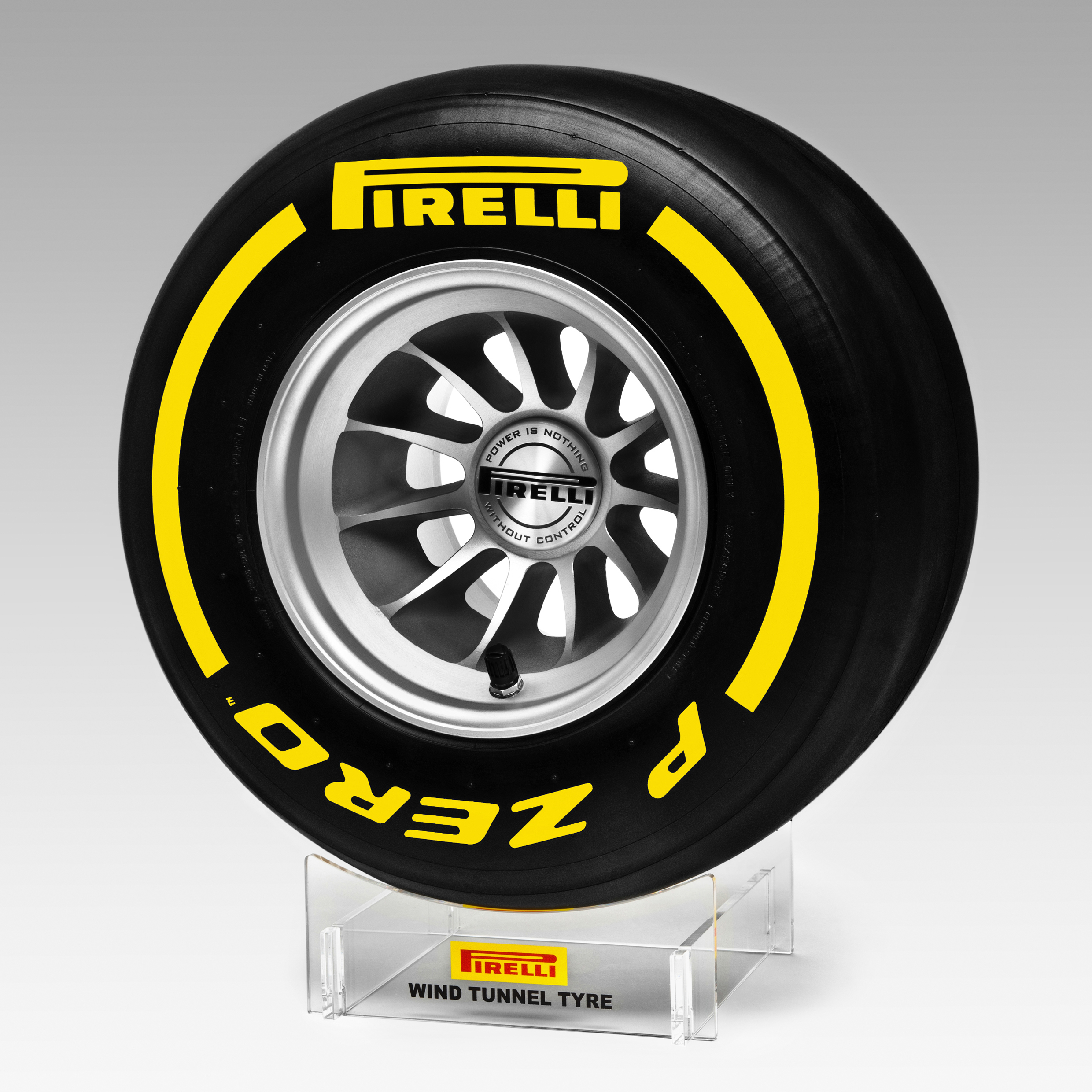 Pirelli Replica Racing Wind Tunnel Tyre 1:2 Scale