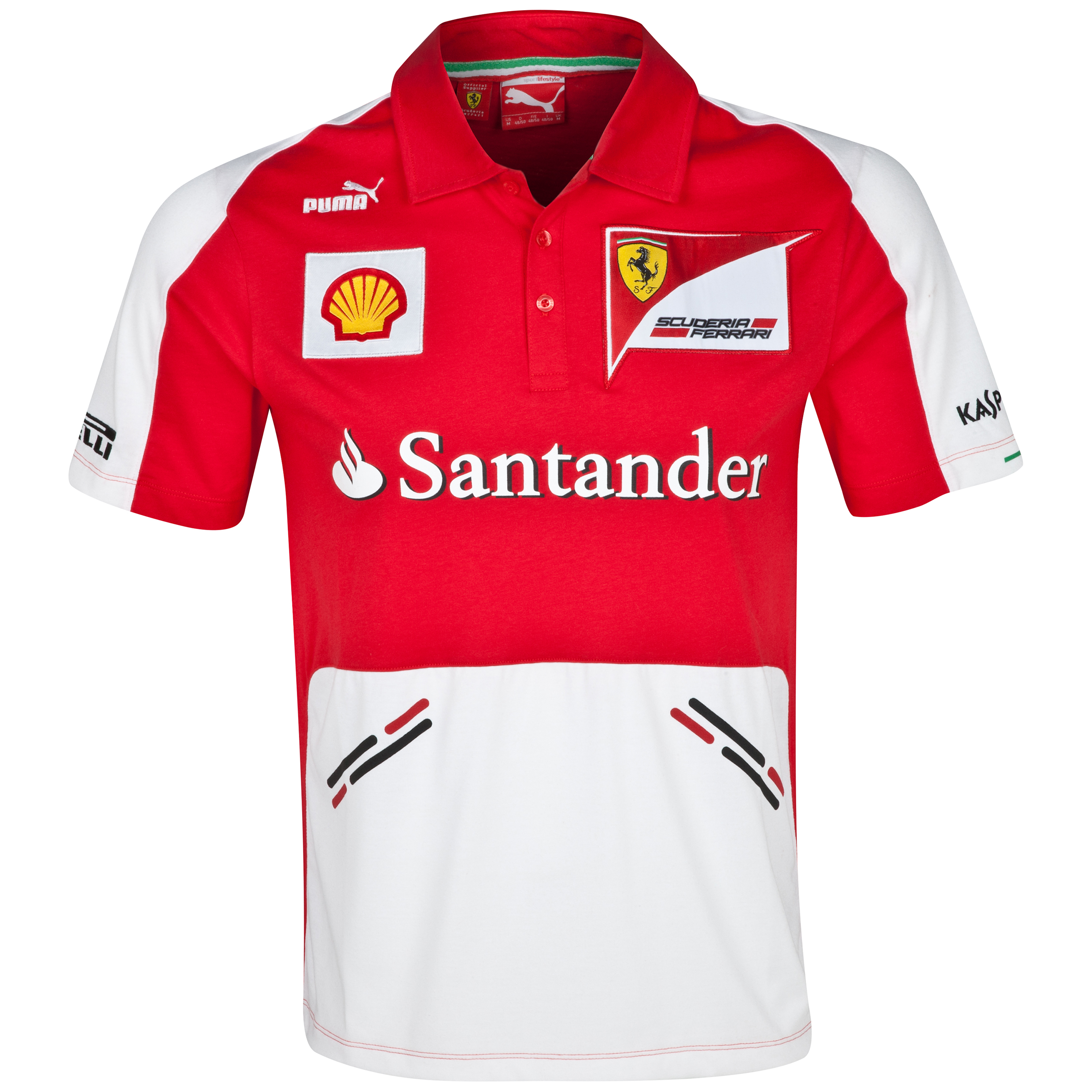 Scuderia Ferrari F1 2013 Team Polo Red