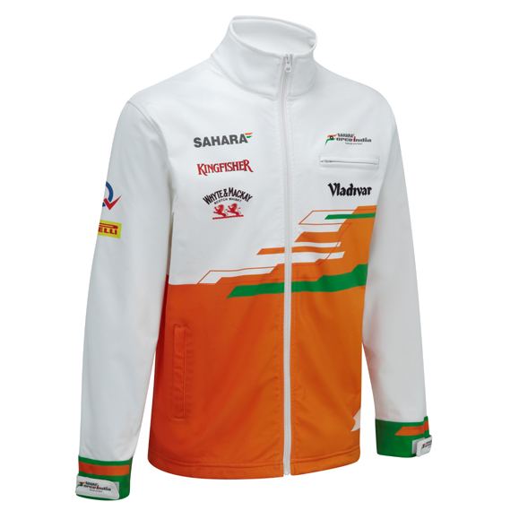 Sahara Force India 2013 Replica Softshell Jacket