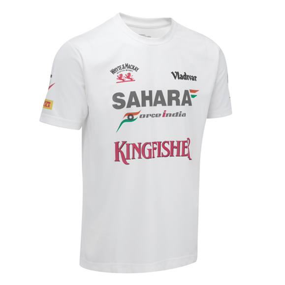 Sahara Force India 2013 Team Sponsor T-Shirt