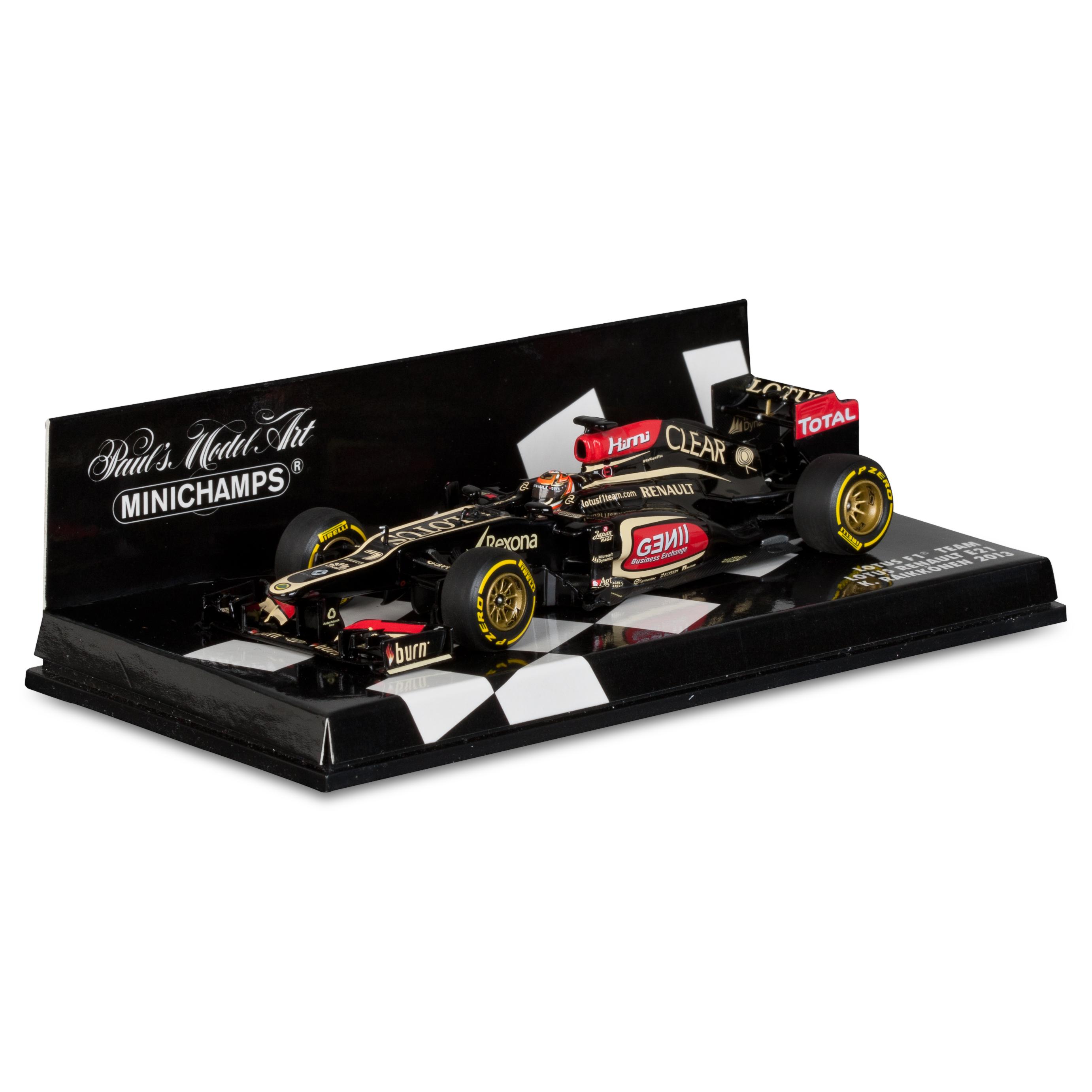 Lotus F1 Team Renault E21 Kimi Raikkonen 2013 1:43 Scale