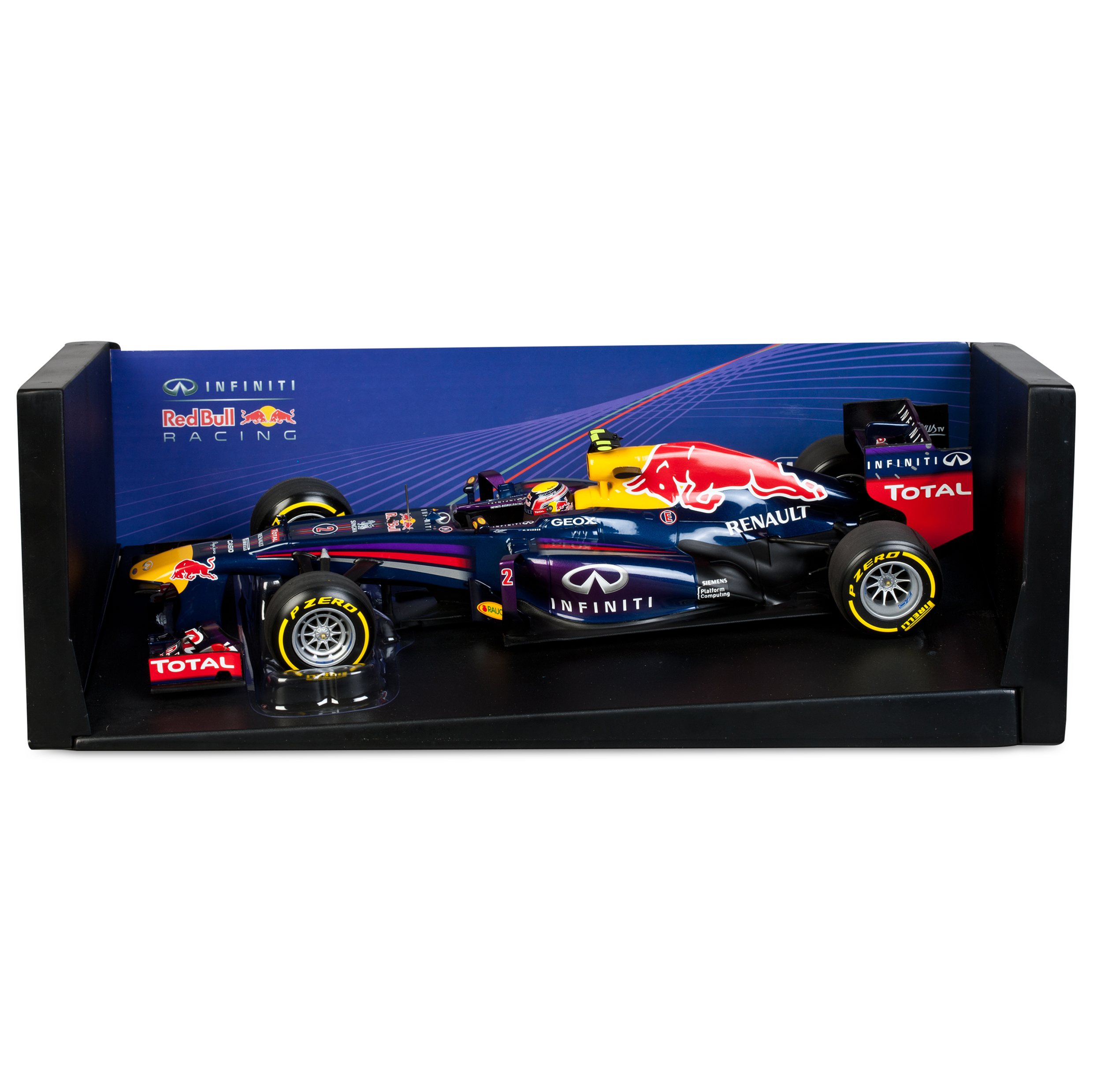 Infiniti Red Bull Racing Renault RB9 Mark Webber 2013 1:18 Scale