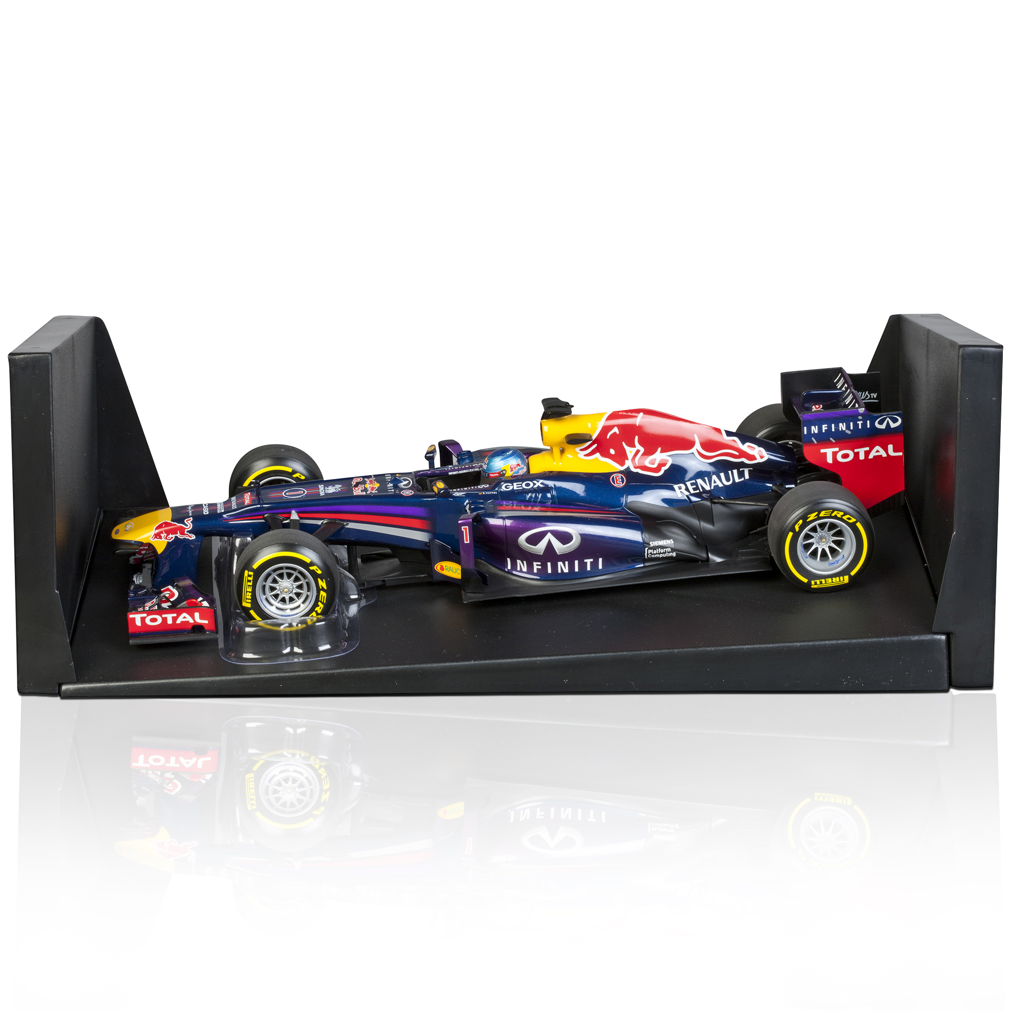 Infiniti Red Bull Racing RB9 Sebastian Vettel 2013 1:18 Scale