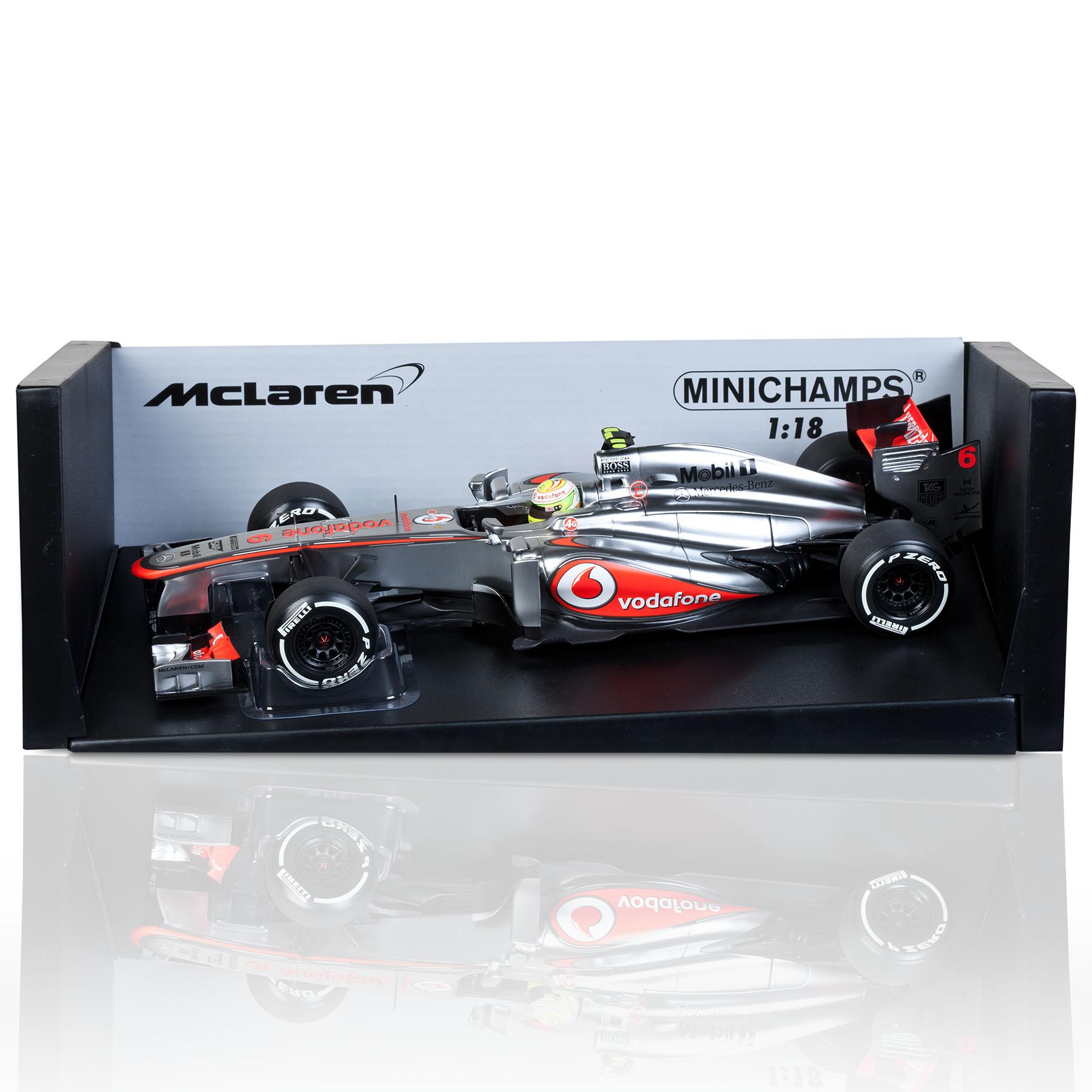 Vodafone McLaren Mercedes MP4-28 Sergio Perez 2013 1:18 Scale