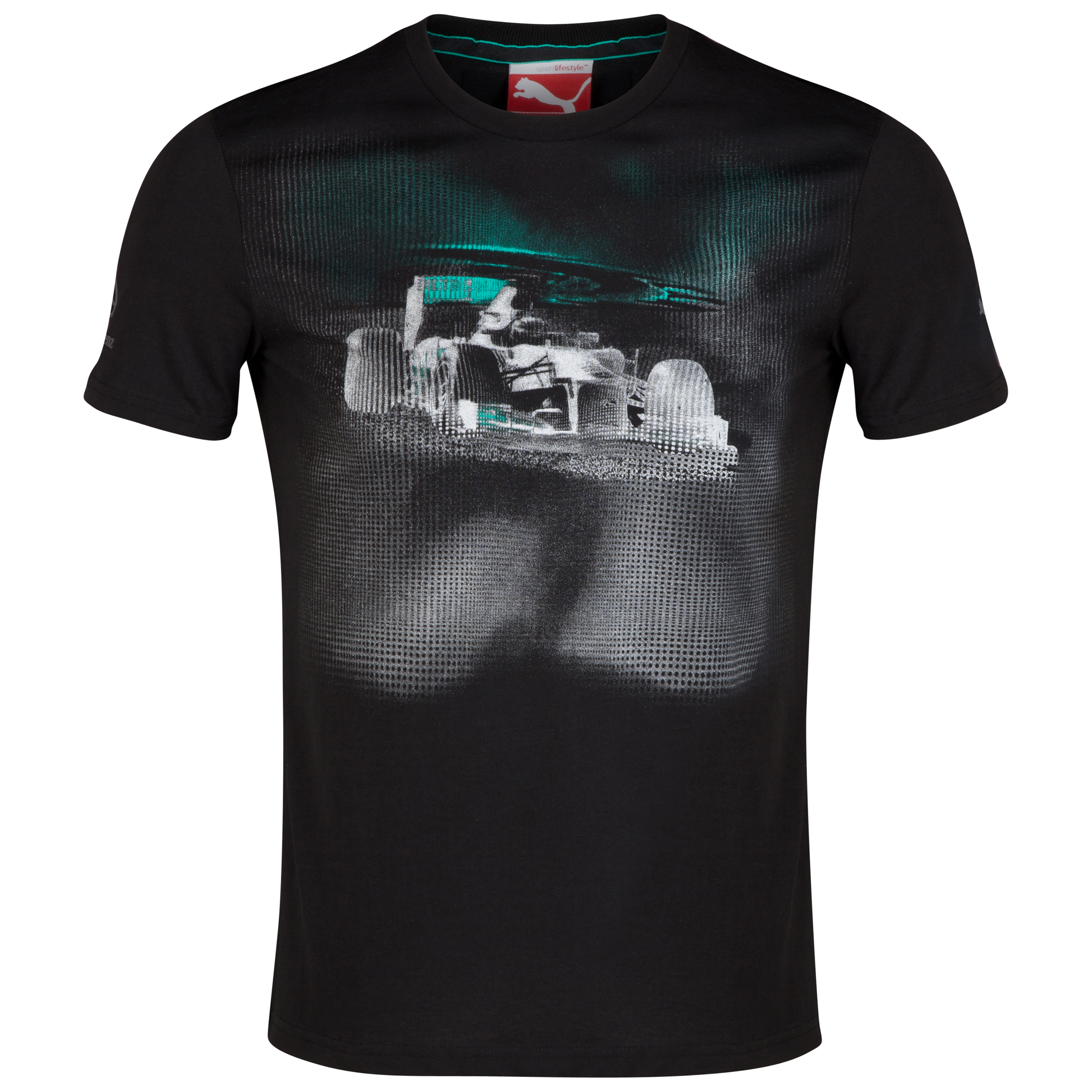 Mercedes AMG PETRONAS Graphic T-Shirt Black