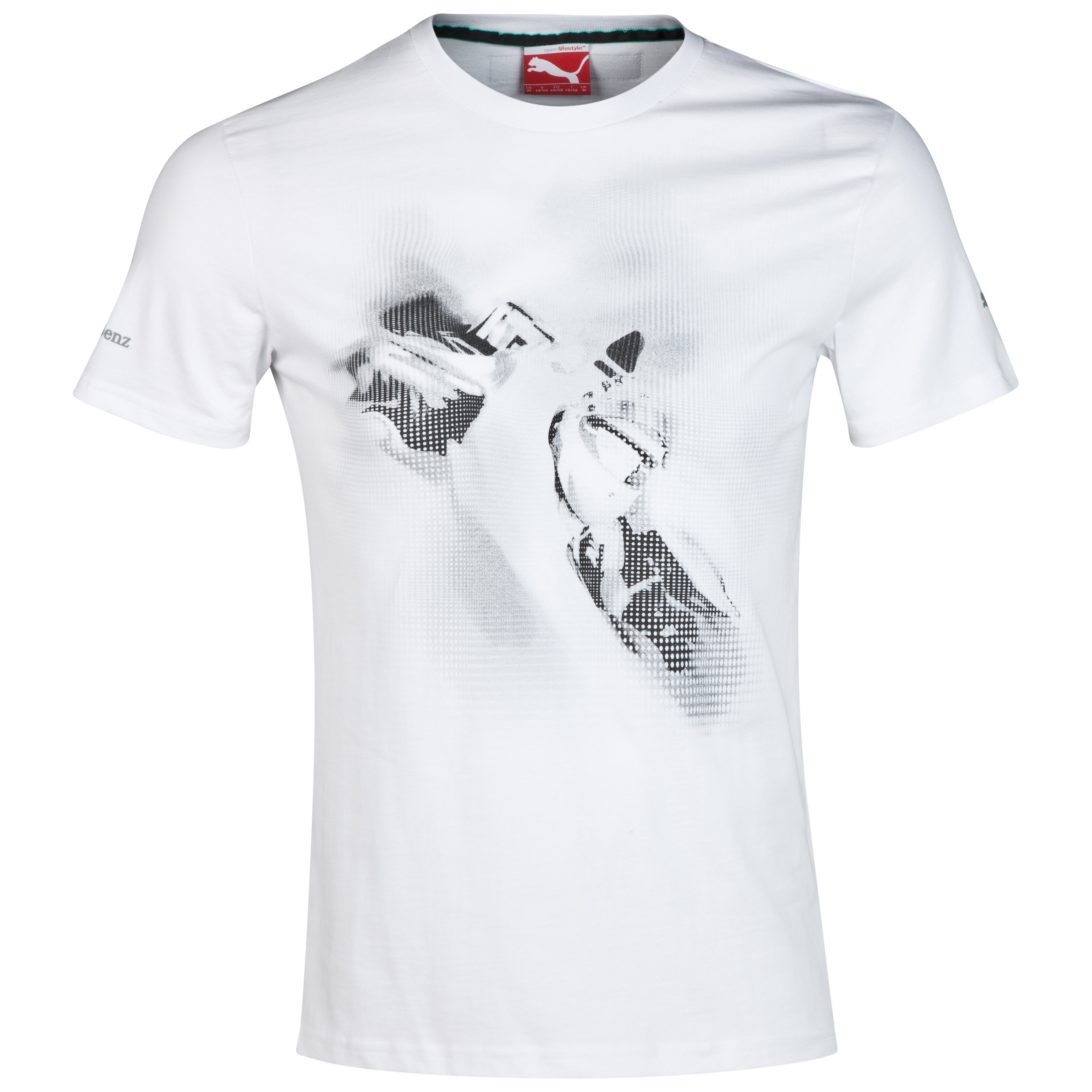 Mercedes AMG PETRONAS Graphic T-Shirt White
