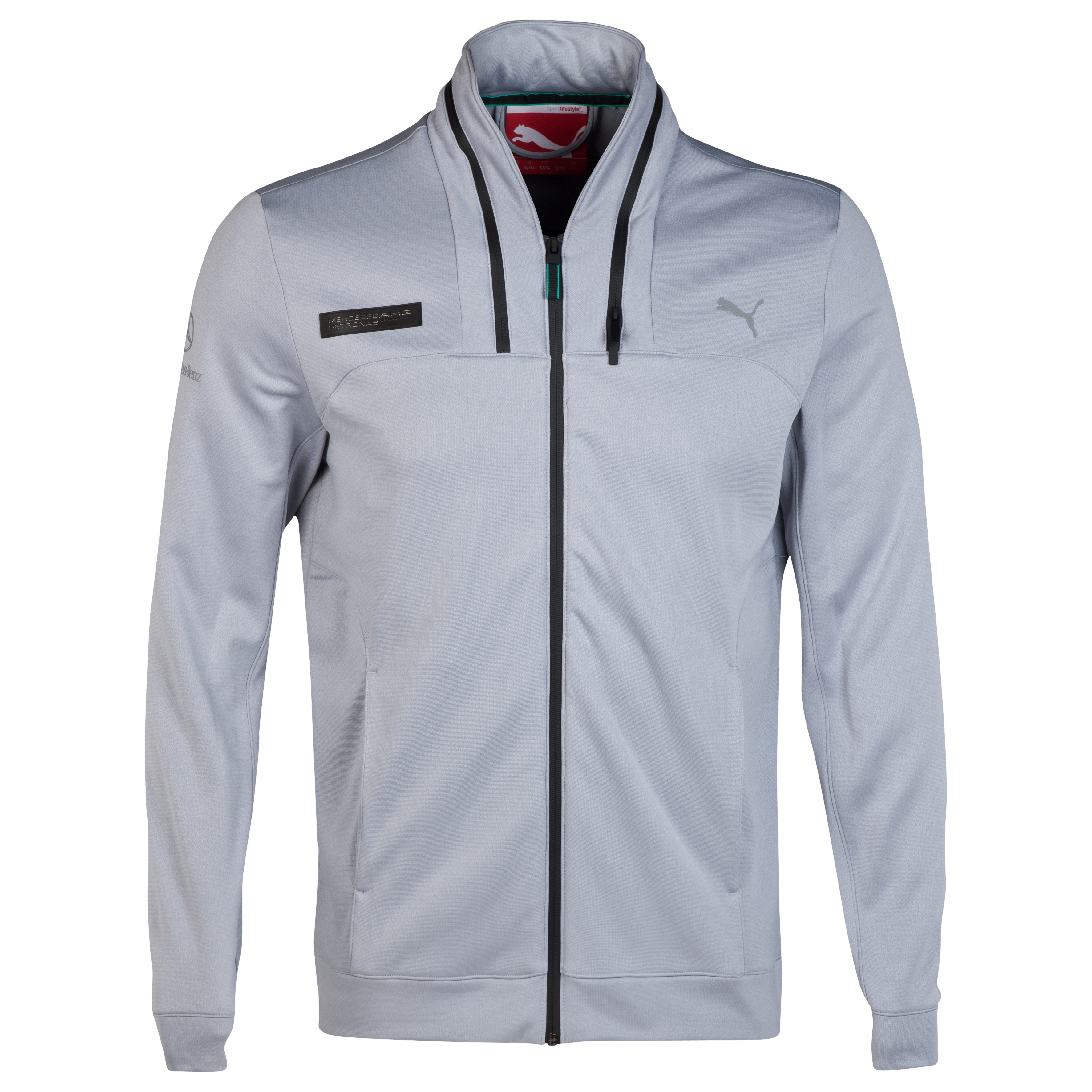 Mercedes AMG PETRONAS Hooded Jacket Silver