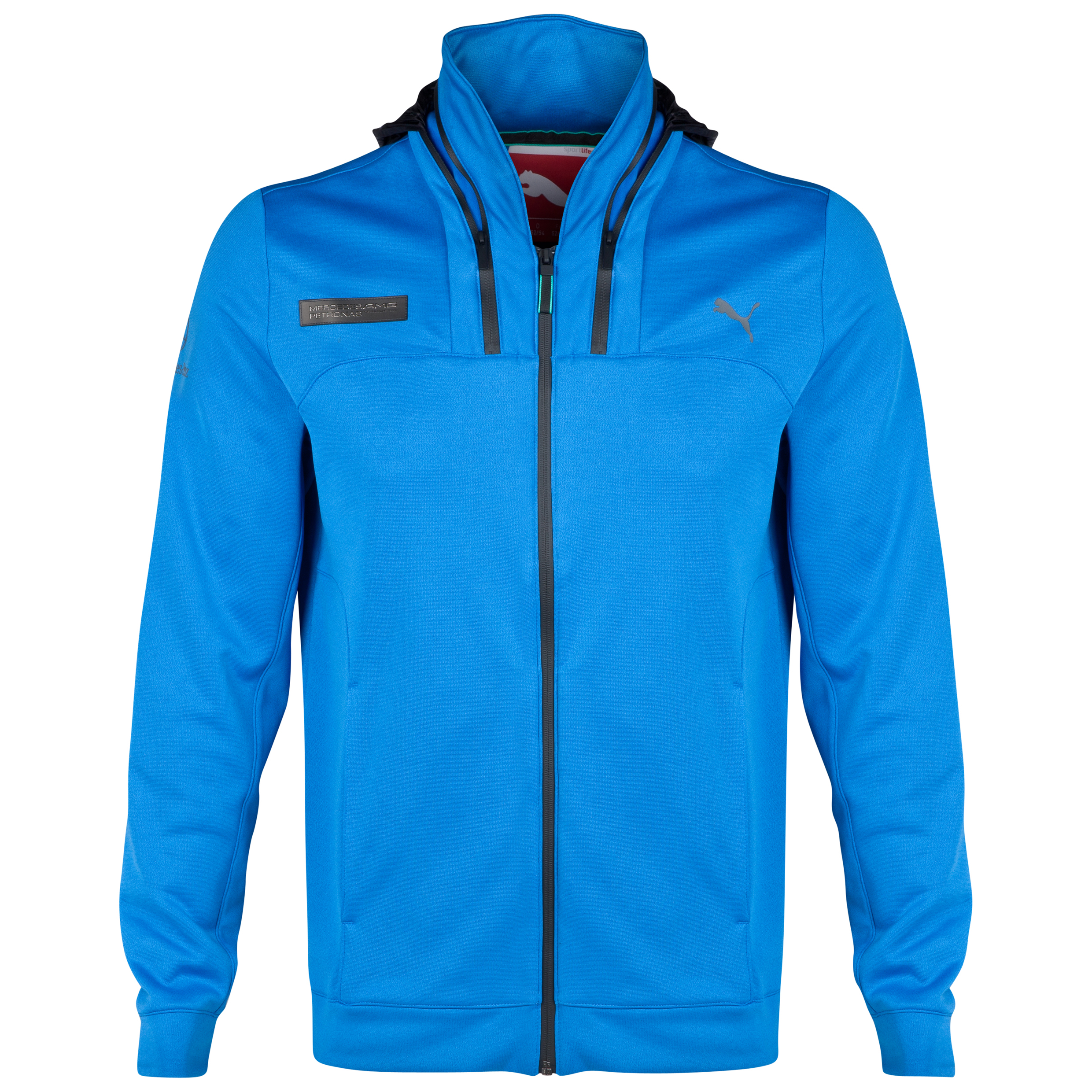 Mercedes AMG PETRONAS Hooded Jacket Blue