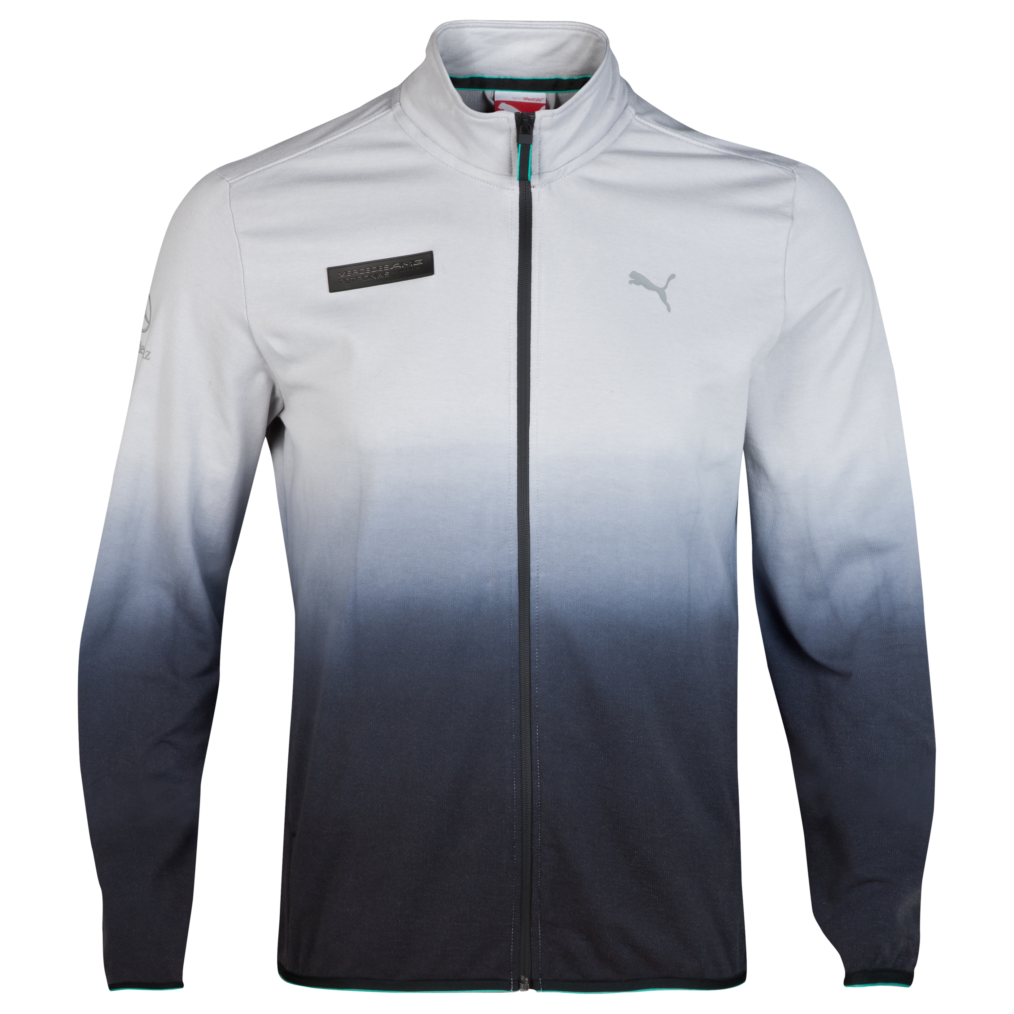 Mercedes AMG PETRONAS Sweat Jacket Silver
