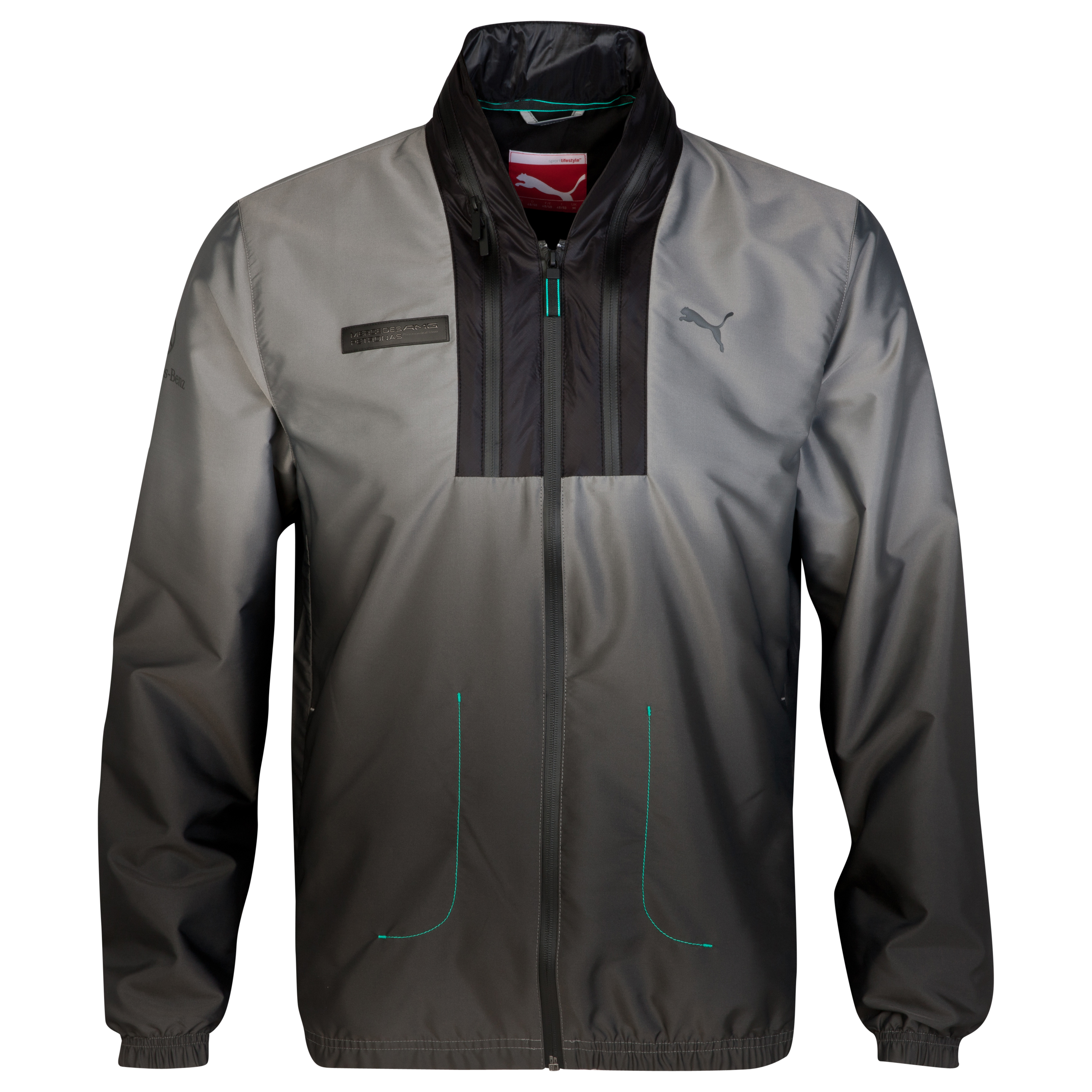 Mercedes AMG PETRONAS Statement Jacket Silver