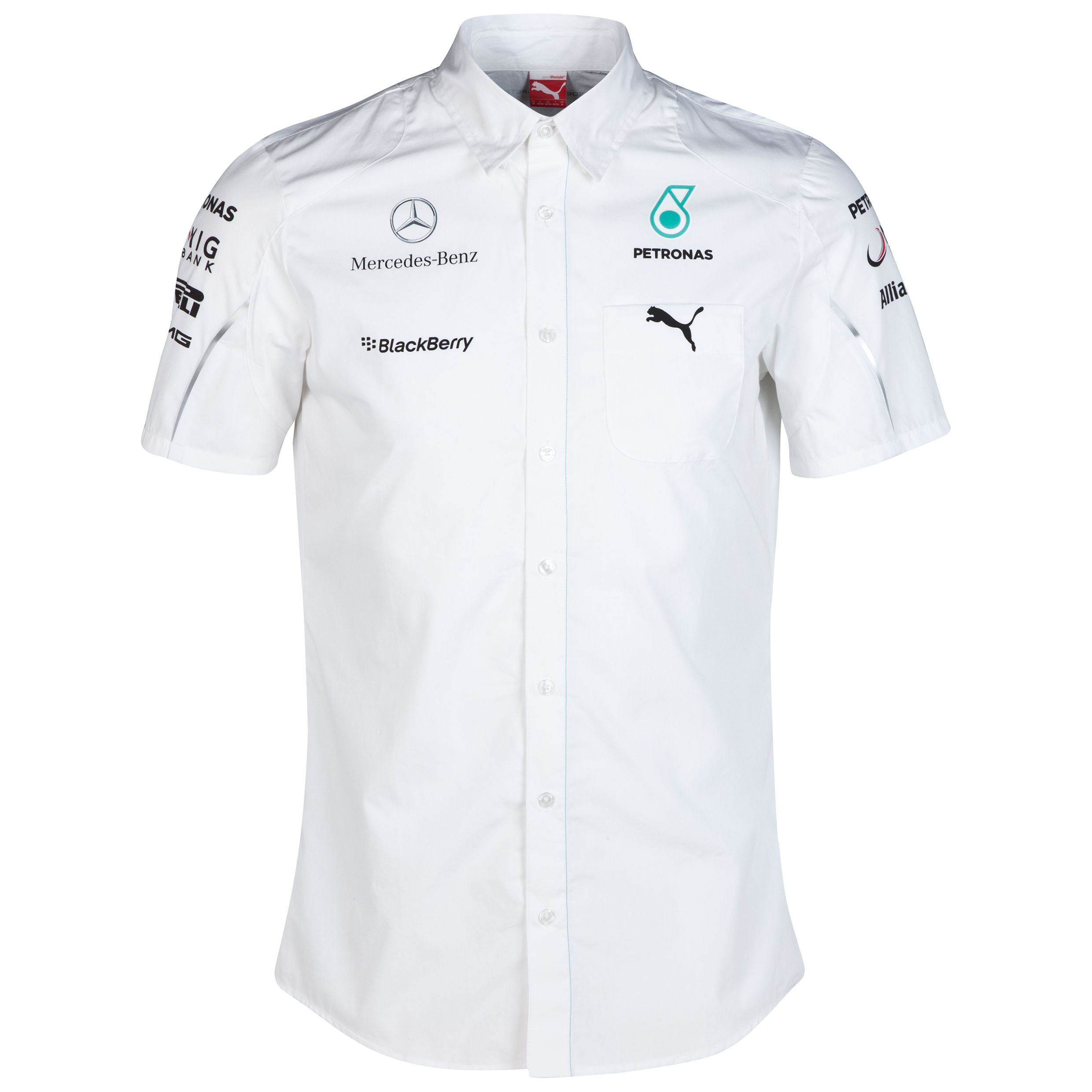 Mercedes AMG PETRONAS Team Shirt White