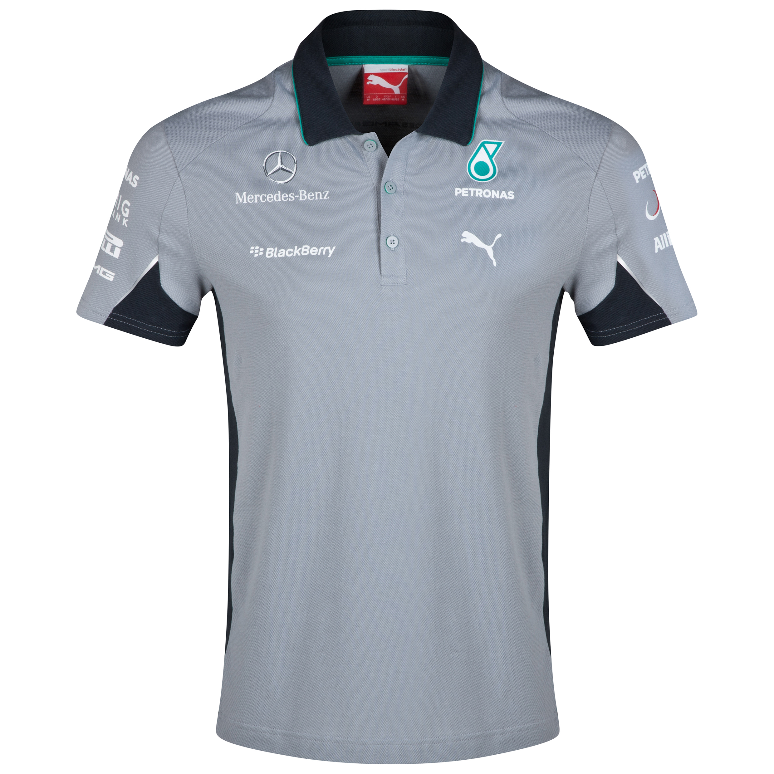Mercedes AMG PETRONAS Team Polo Grey
