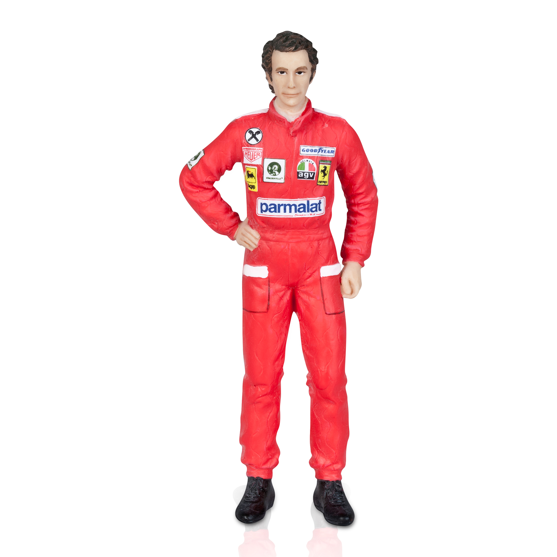 Scuderia Ferrari 1976 Niki Lauda Figurine 1:18 Scale