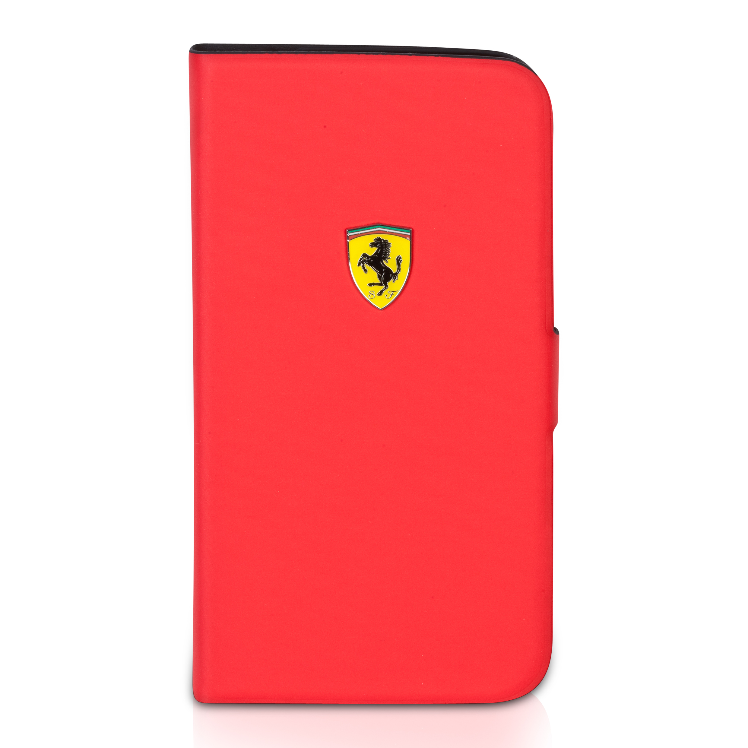 Scuderia Ferrari Galaxy S4 Rubber Hardcase With Flap - Red Red