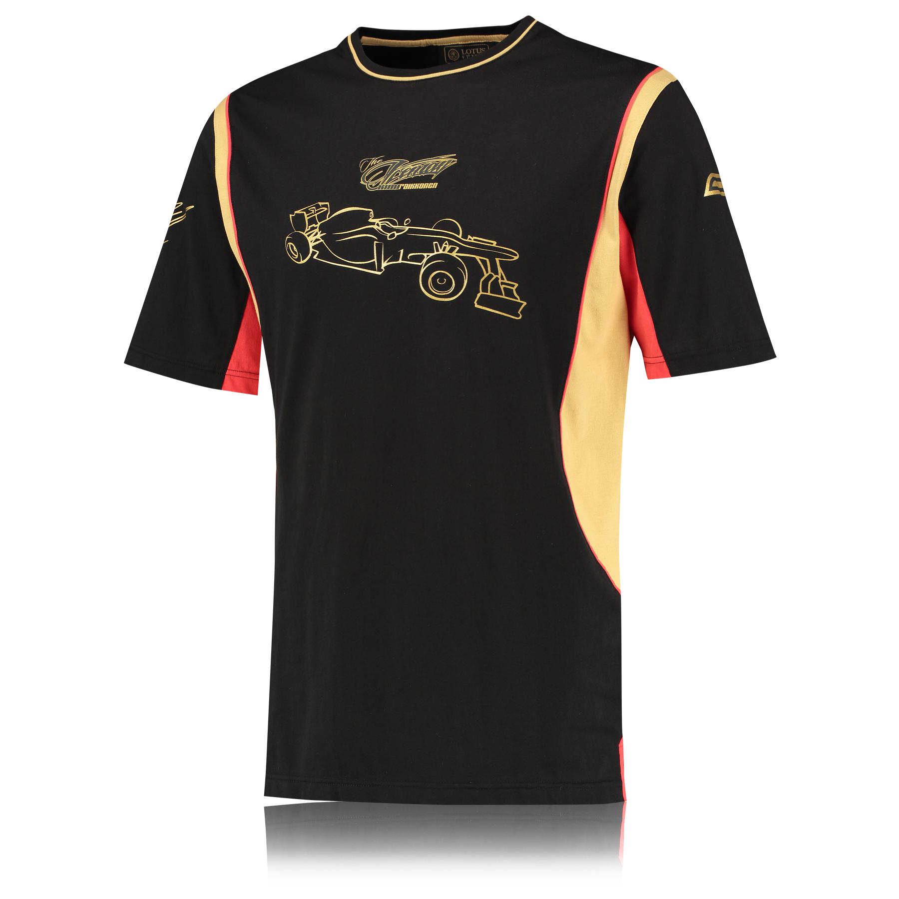Lotus F1 Team 2013 F1 Mens Lifestyle Kimi T-Shirt