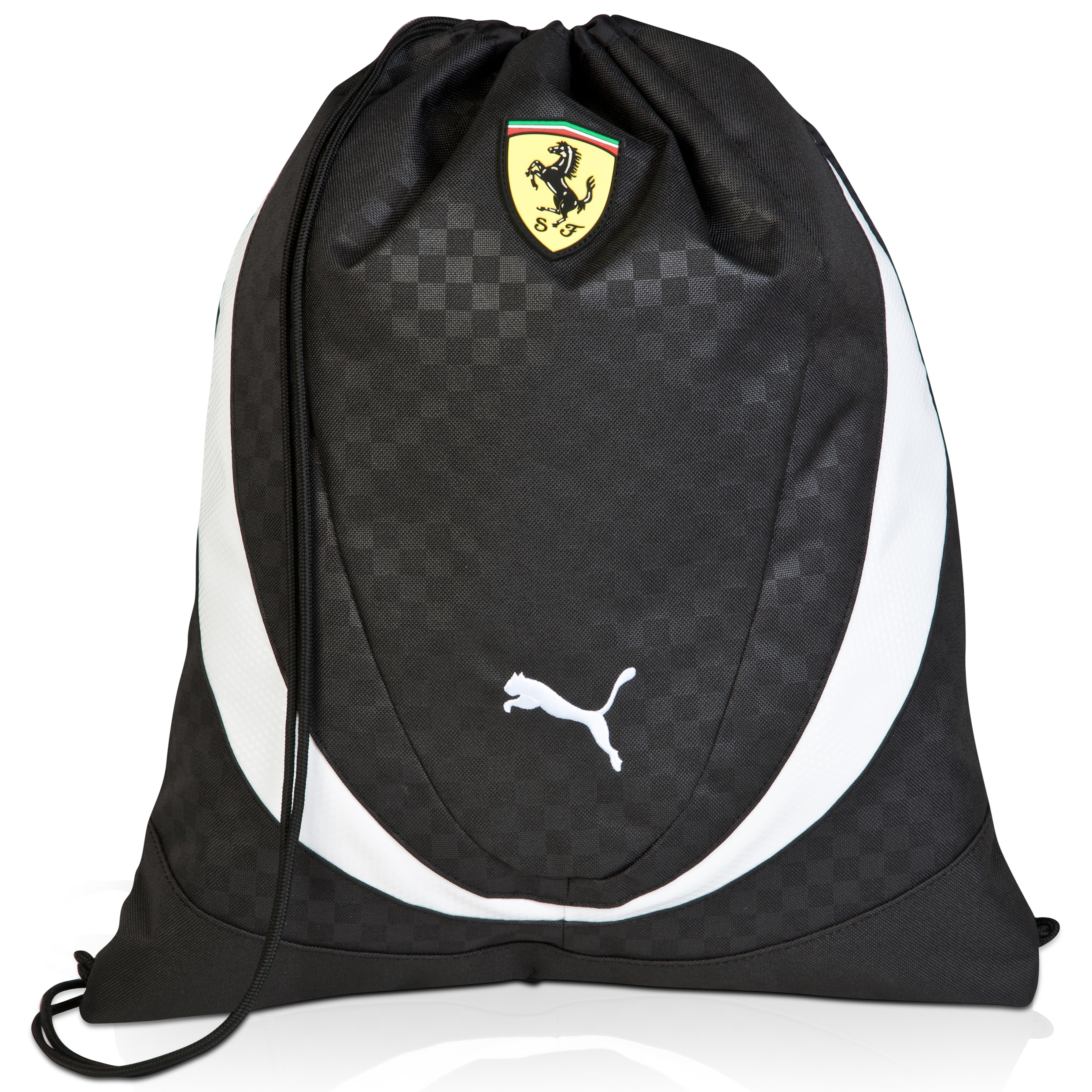 Scuderia Ferrari Gym Sack Black