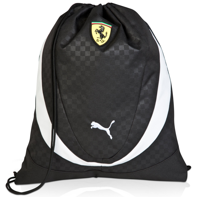 Scuderia Ferrari Gym Sack Black
