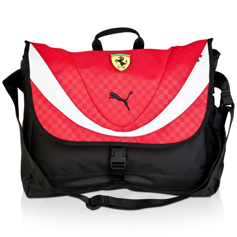 Scuderia Ferrari Shoulder Bag Red