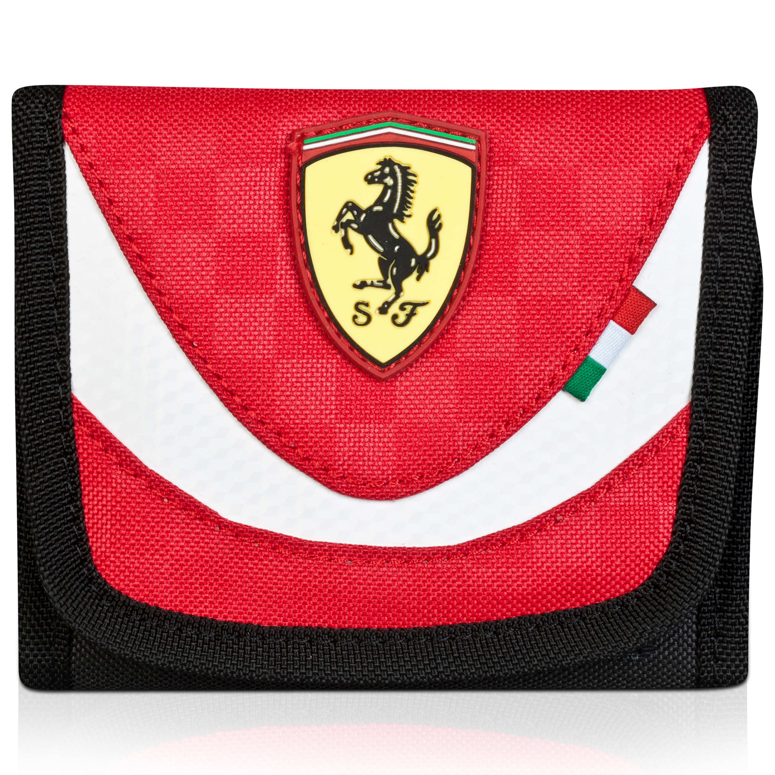 Scuderia Ferrari Wallet Red