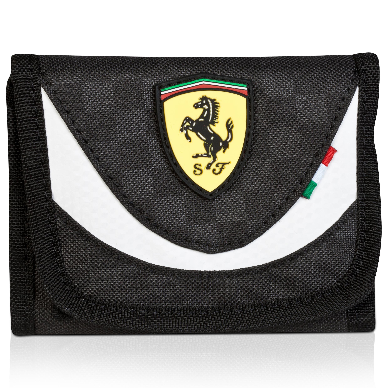 Scuderia Ferrari Wallet Black
