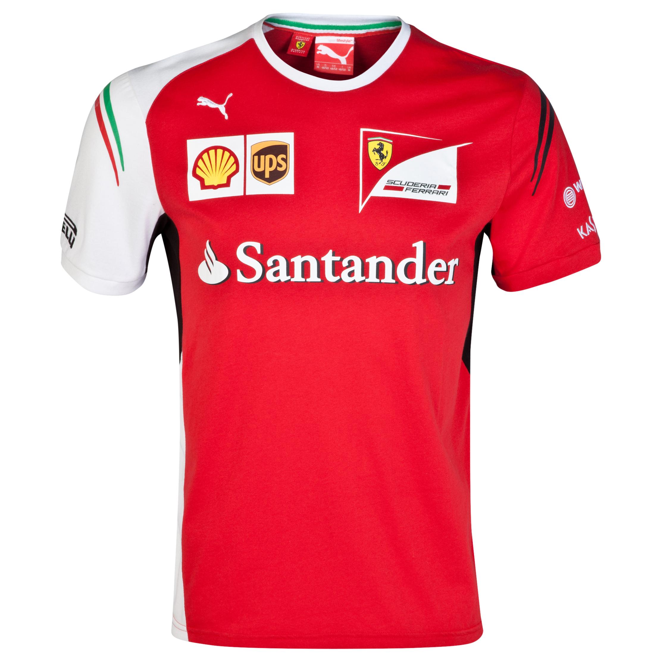 Scuderia Ferrari Team T-Shirt Red
