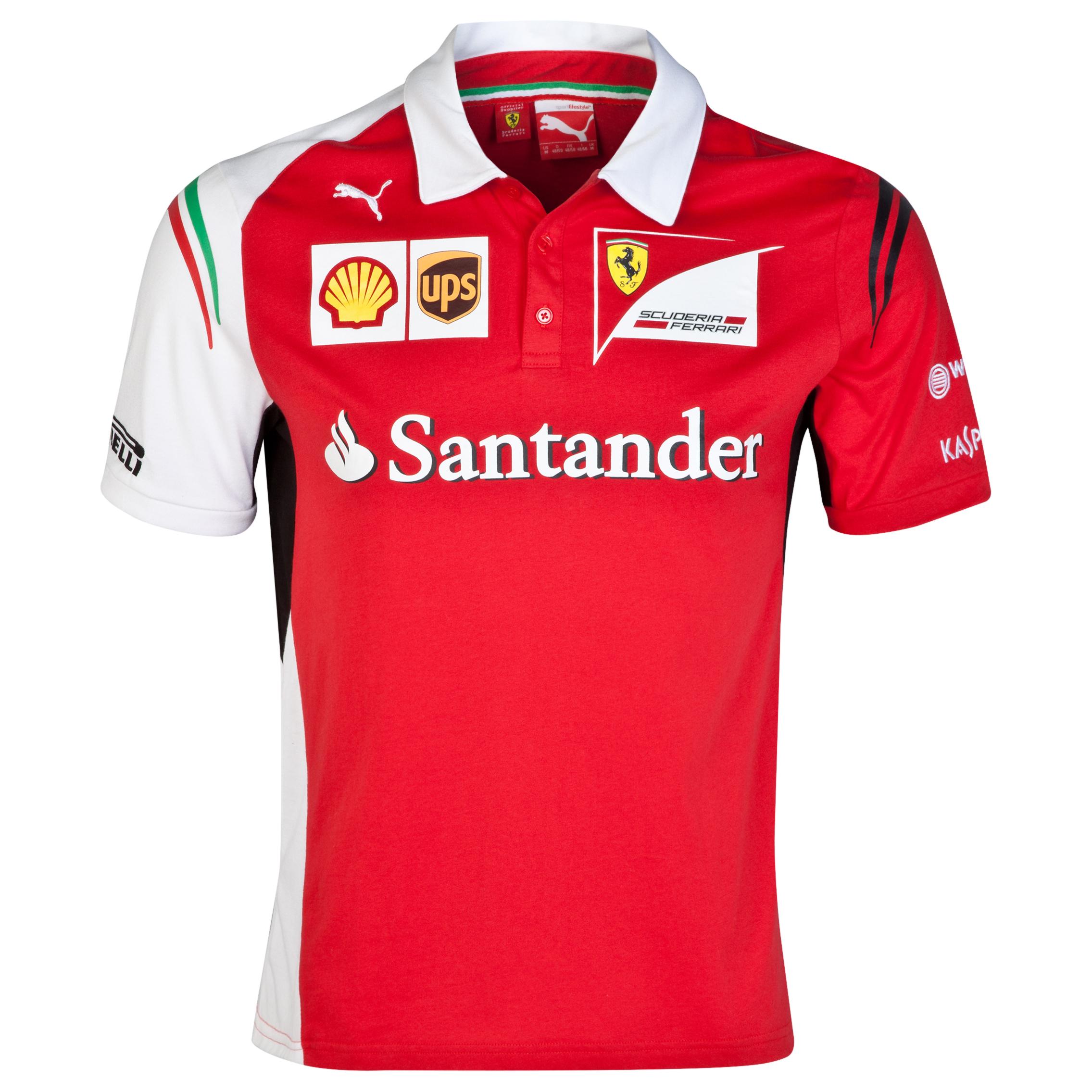 Scuderia Ferrari Team Polo Red