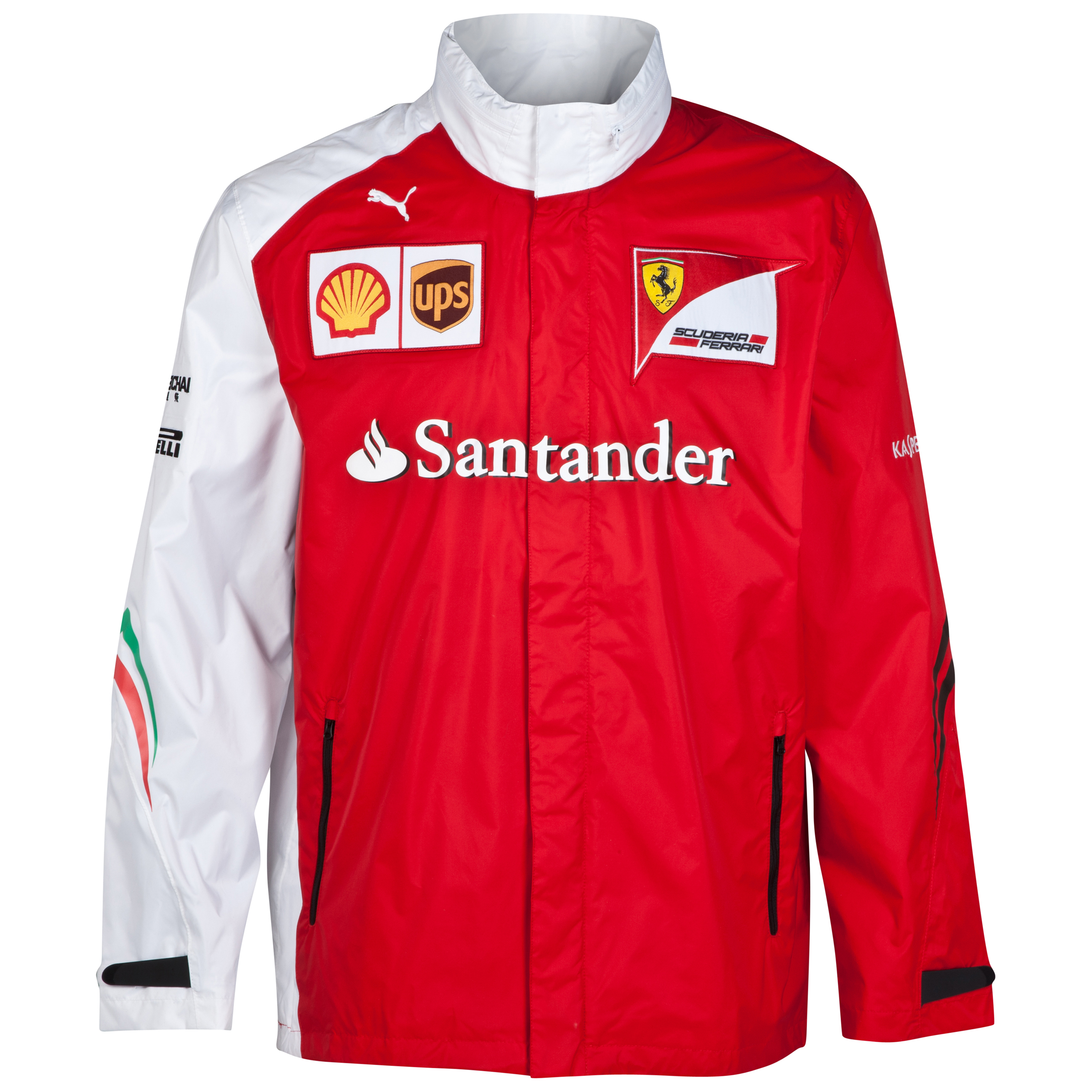 Scuderia Ferrari Team Jacket Red