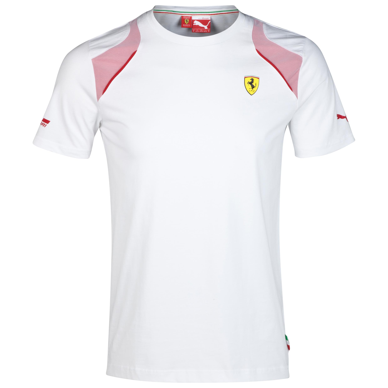 Scuderia Ferrari T-Shirt White