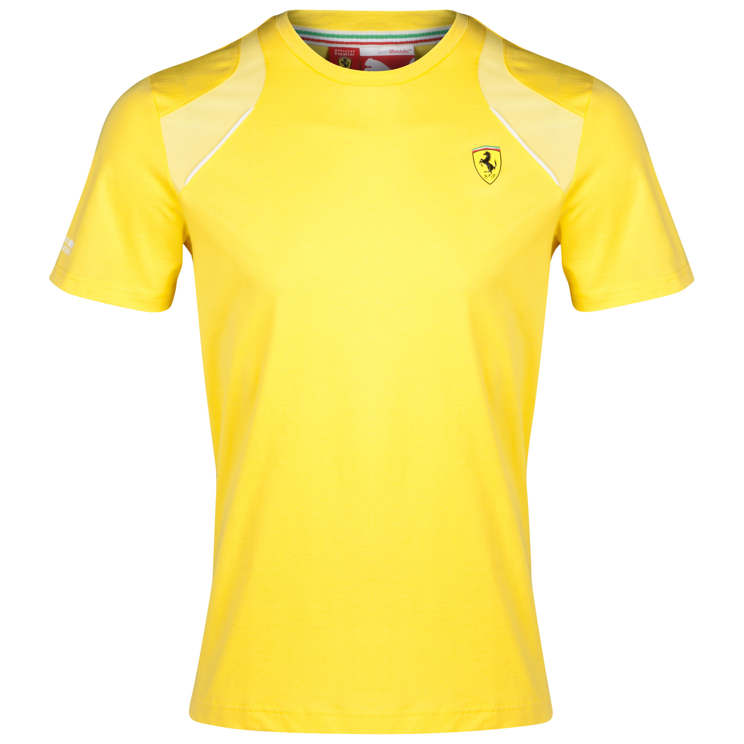 Scuderia Ferrari T-Shirt Yellow
