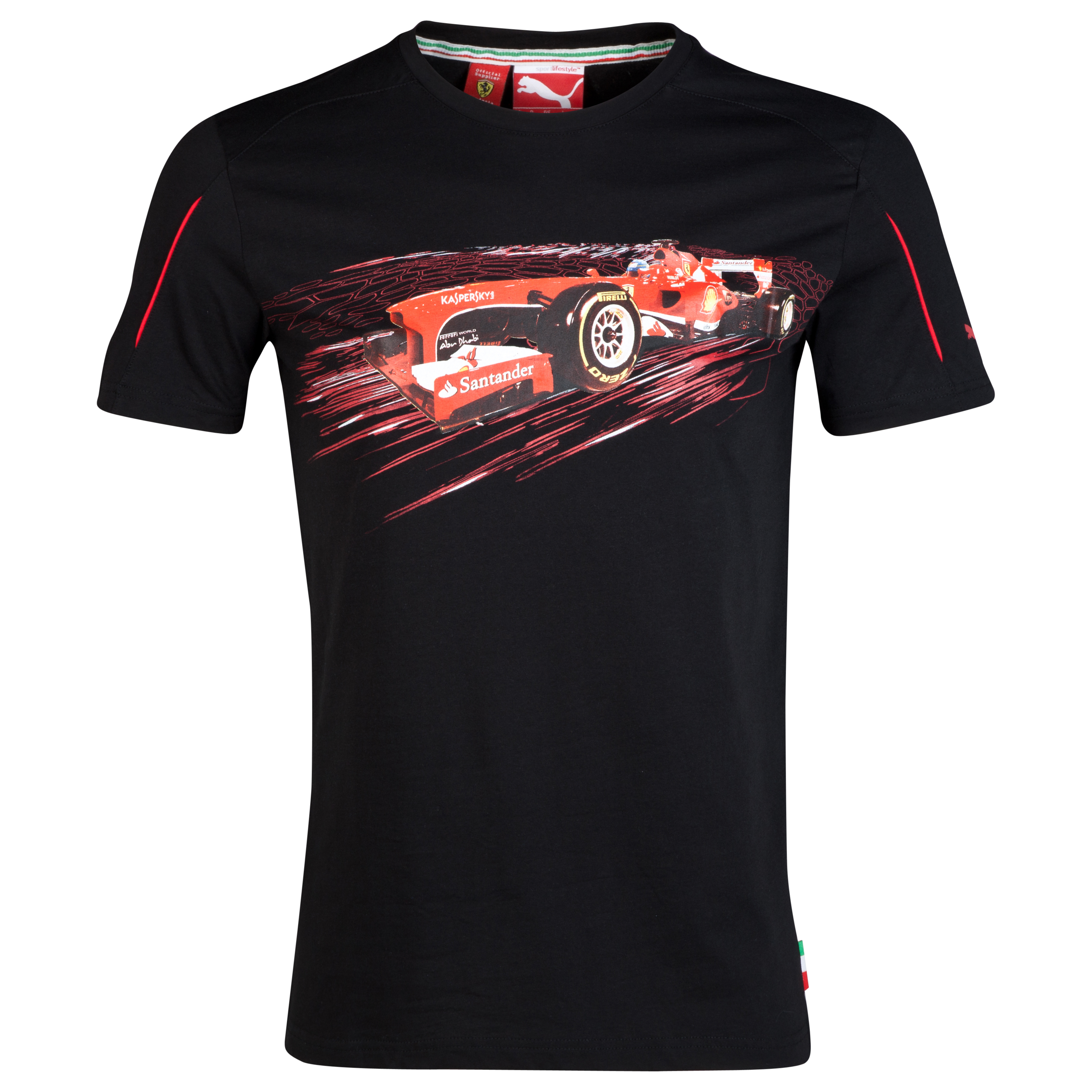 Scuderia Ferrari Graphic T-Shirt Black