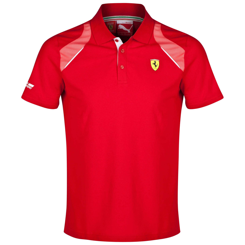 Scuderia Ferrari Polo Red