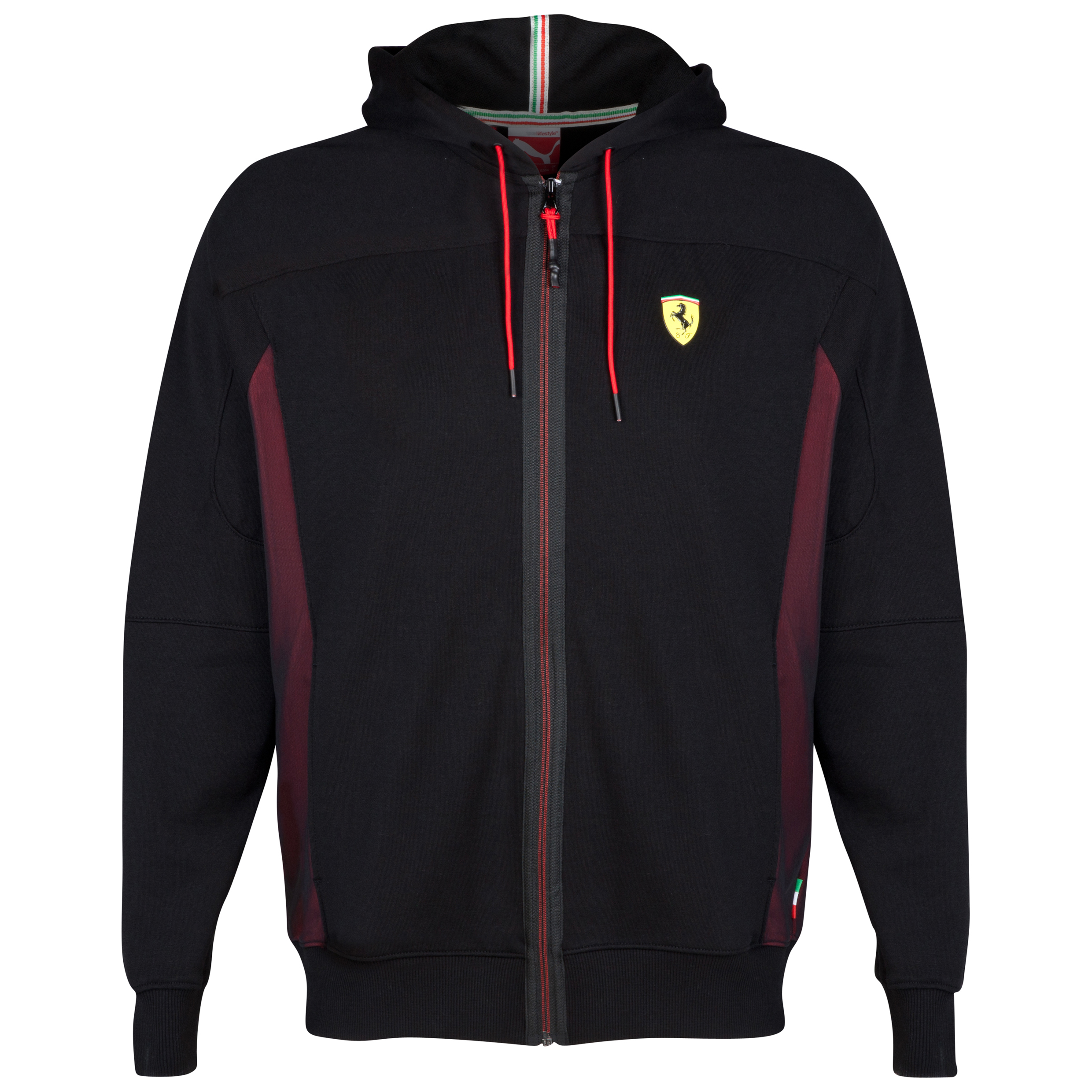 Scuderia Ferrari Sweat Jacket Black