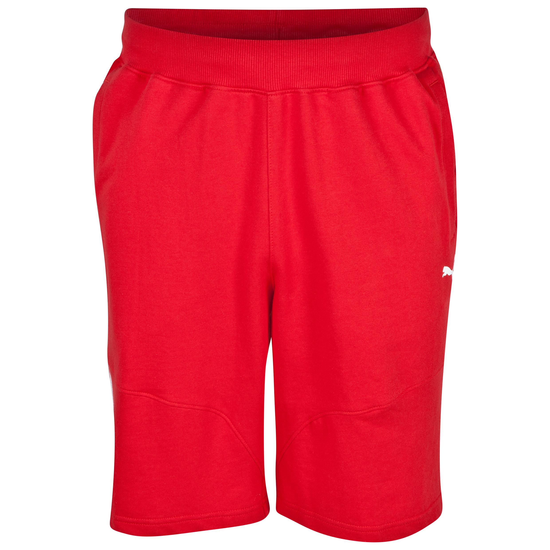 Scuderia Ferrari Bermunda Shorts Red