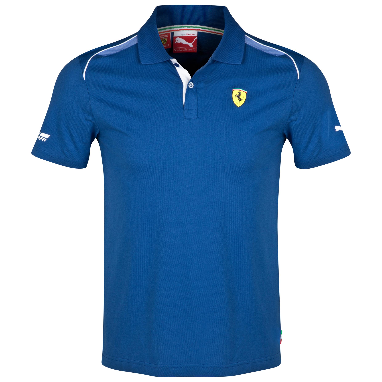 Scuderia Ferrari Polo Blue