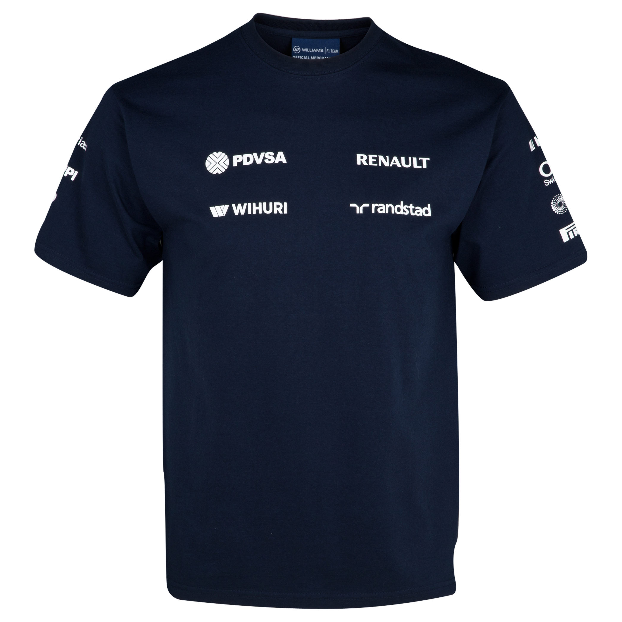 WILLIAMS F1 Team 2013 Sponsor T-Shirt