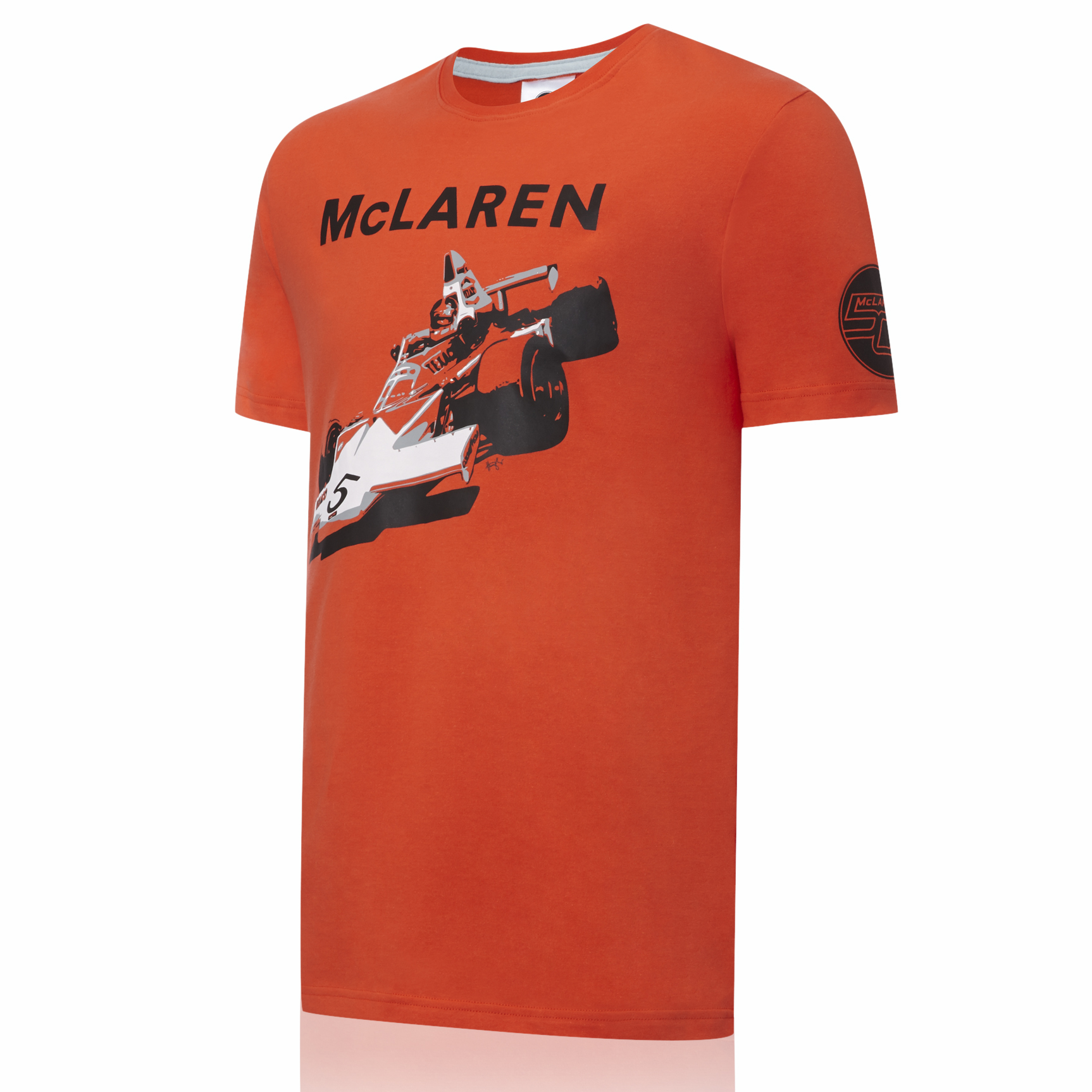 Vodafone McLaren Mercedes 50th 1974 MP23B T-Shirt