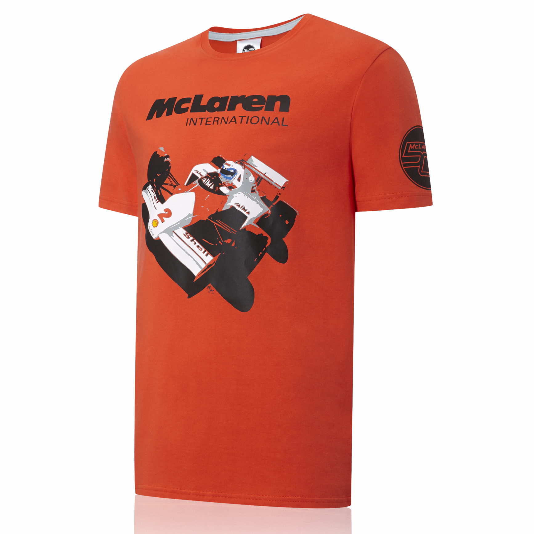 Vodafone McLaren Mercedes 50th 1985 MP4-2B T-Shirt