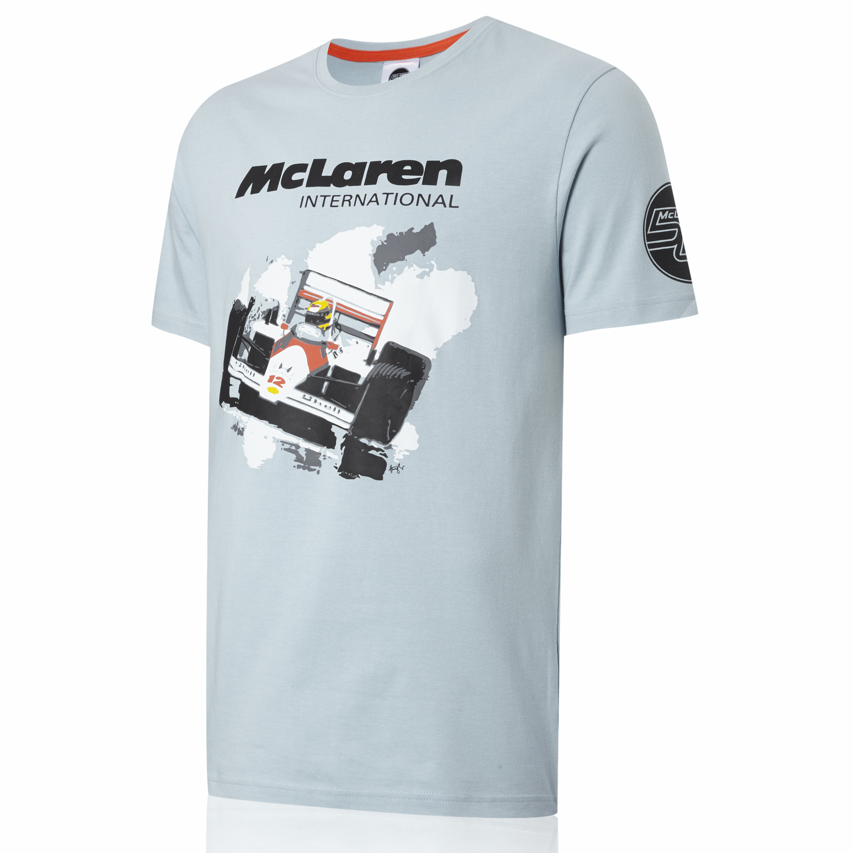 Vodafone McLaren Mercedes 50th 1988 MP4-4 T-Shirt