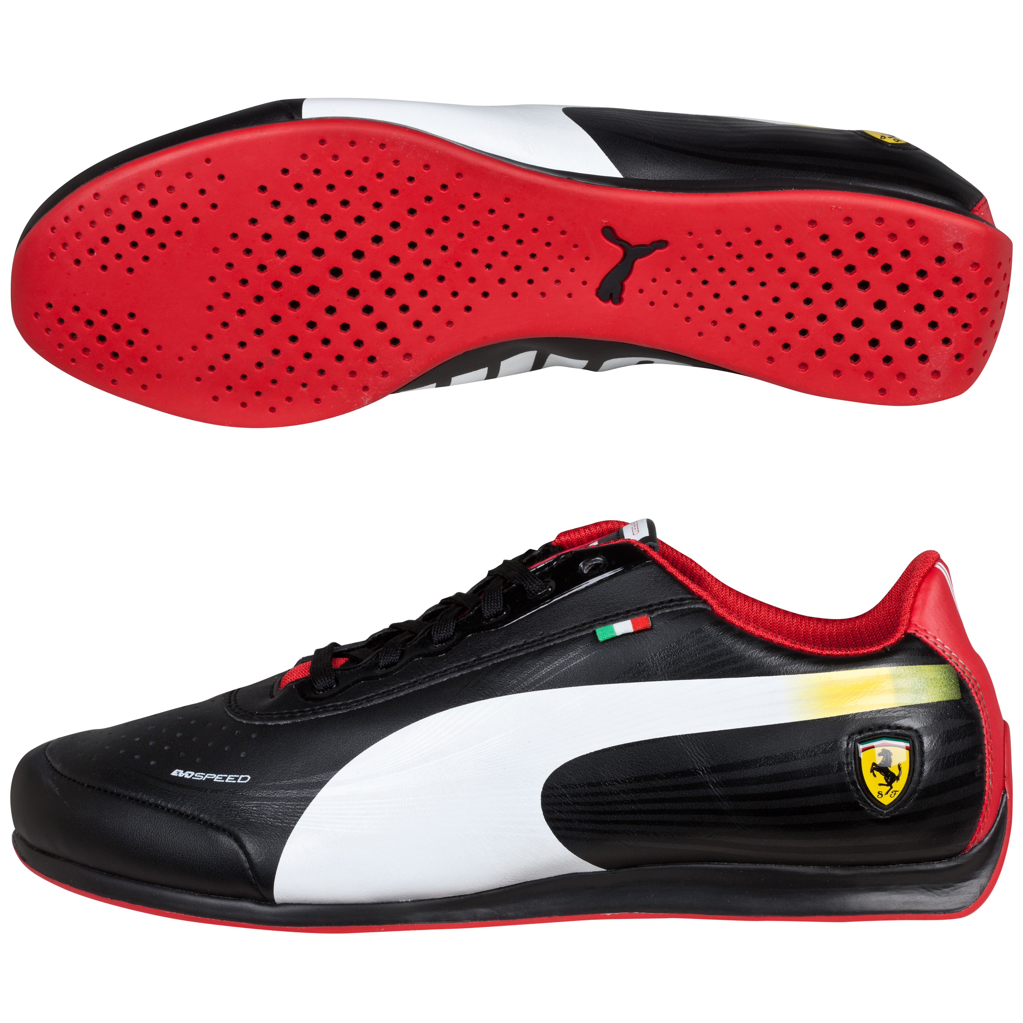 Scuderia Ferrari evoSPEED 1.2 Low Black