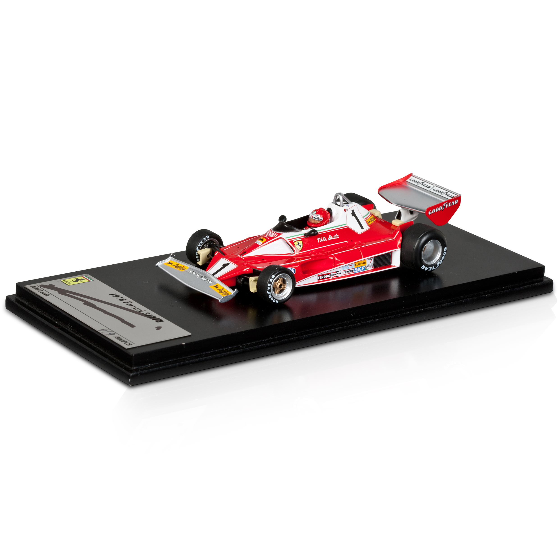 Scuderia Ferrari 312 T2 1:43 Scale Signed By Niki Lauda