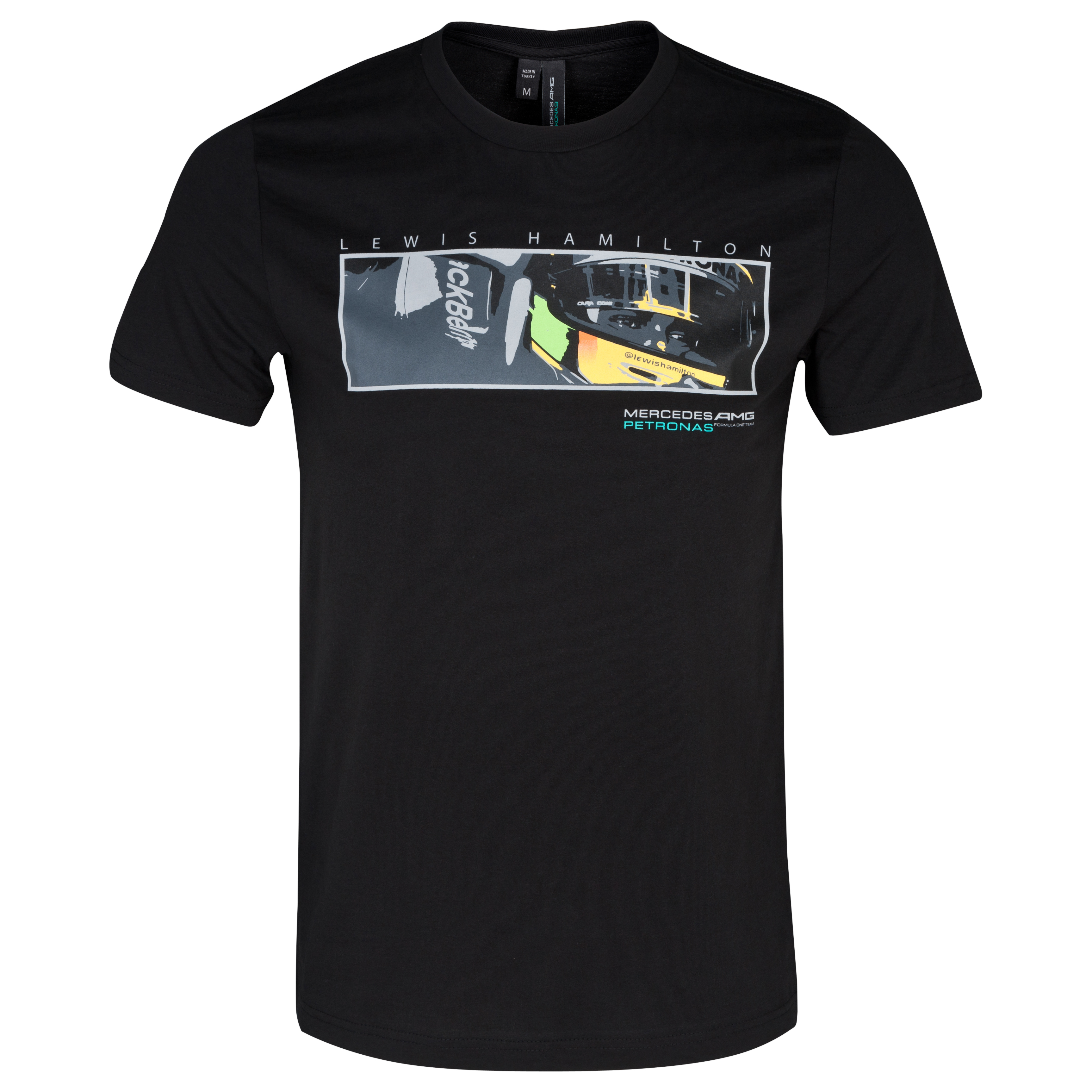 Mercedes AMG Petronas Lewis Eyes T-Shirt Black