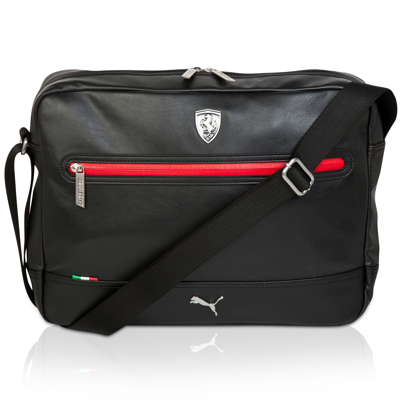 Scuderia Ferrari Lifestyle Reporter Bag Black