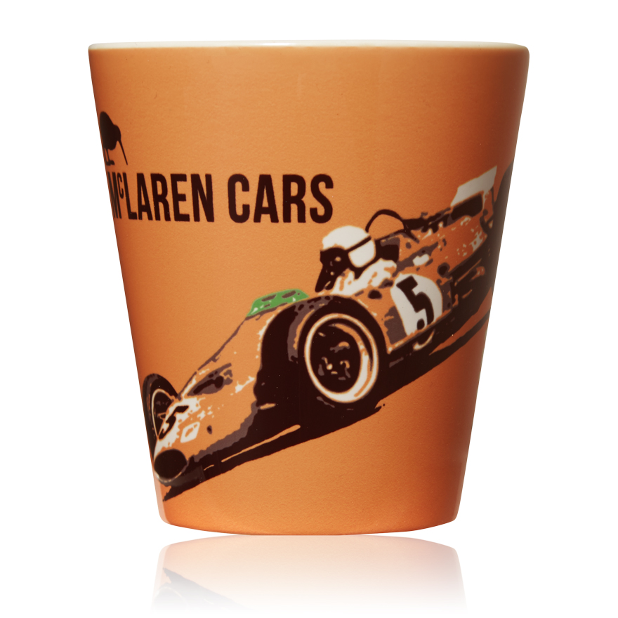 Team McLaren M7A Car Mug
