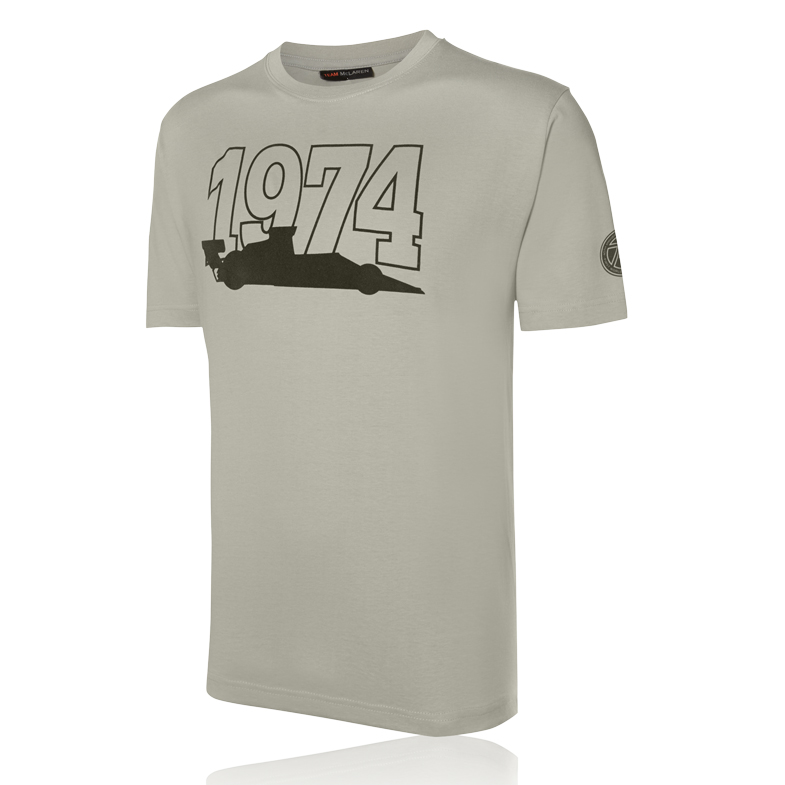 Team McLaren 74 T-Shirt Grey