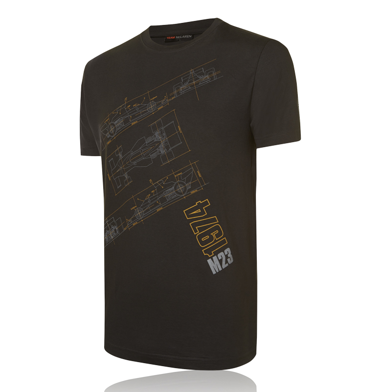 Team McLaren Tech Print T-Shirt