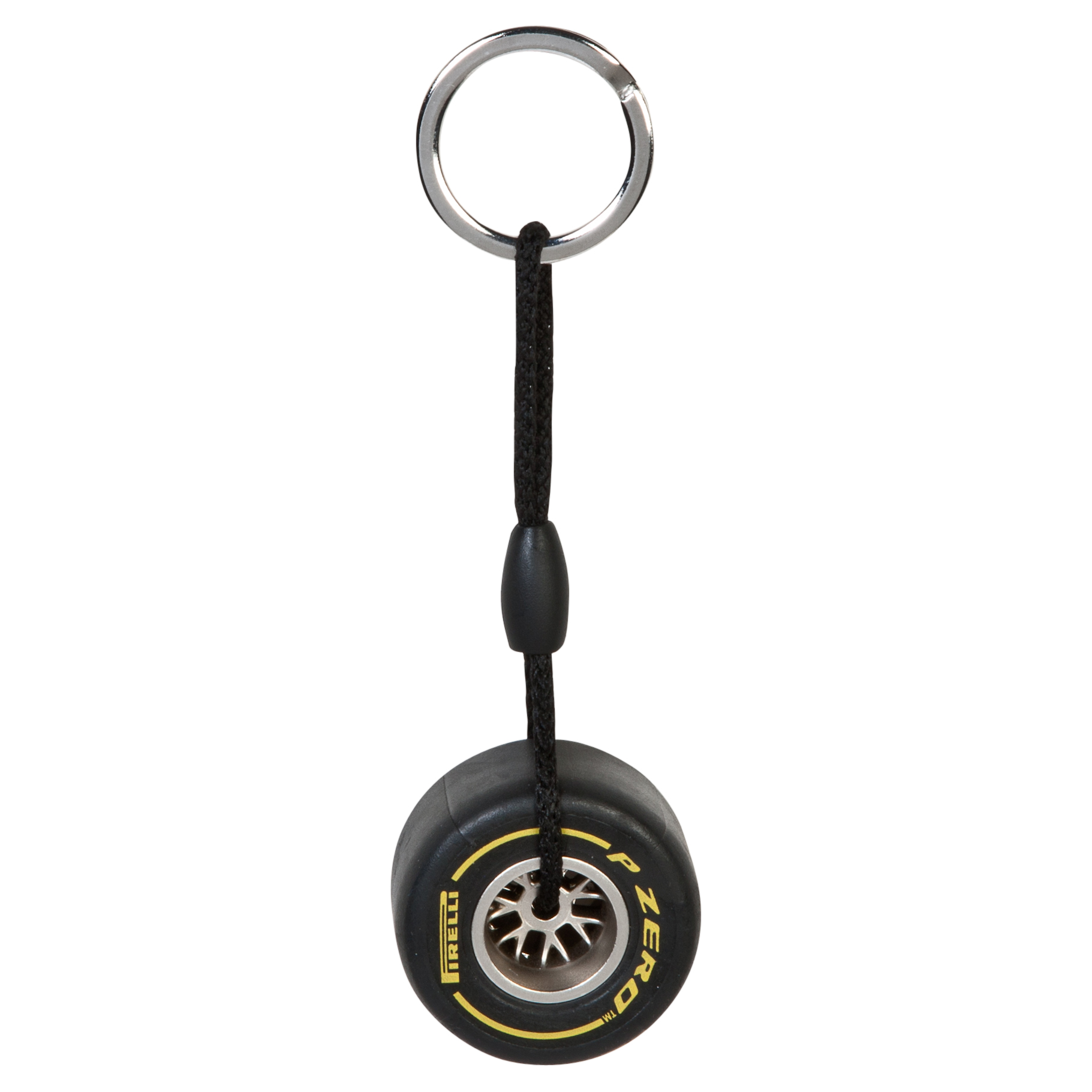 Pirelli Rim Tyre Key Ring - Soft Yellow