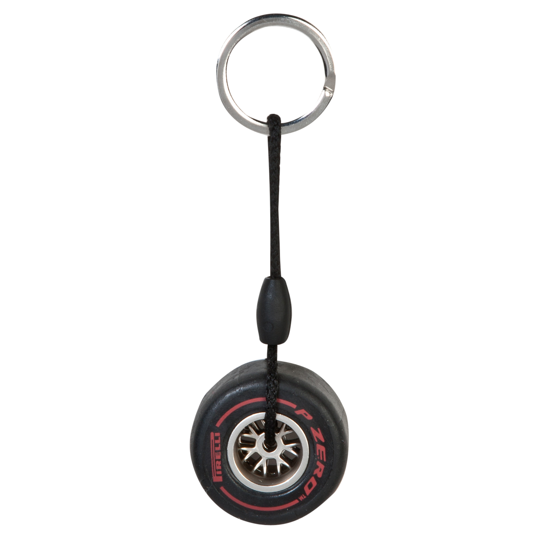 Pirelli Rim Tyre Key Ring - Super Soft Red