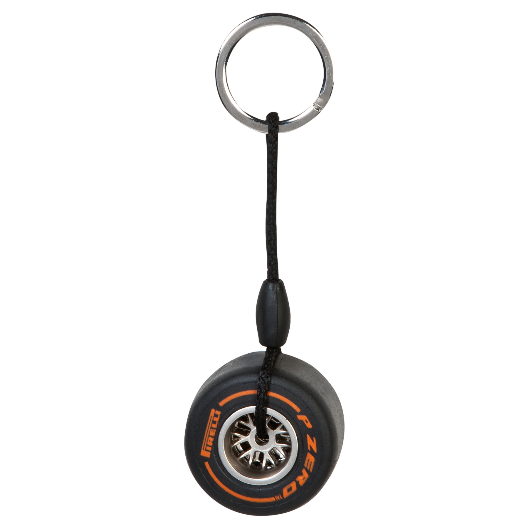 Pirelli Rim Tyre Key Ring - Hard Orange